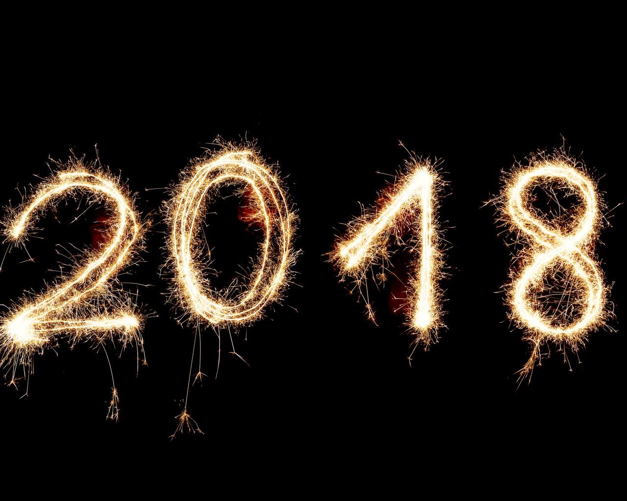 1280x1024 Happy New Year 2018 1280x1024 Resolution HD 4k
