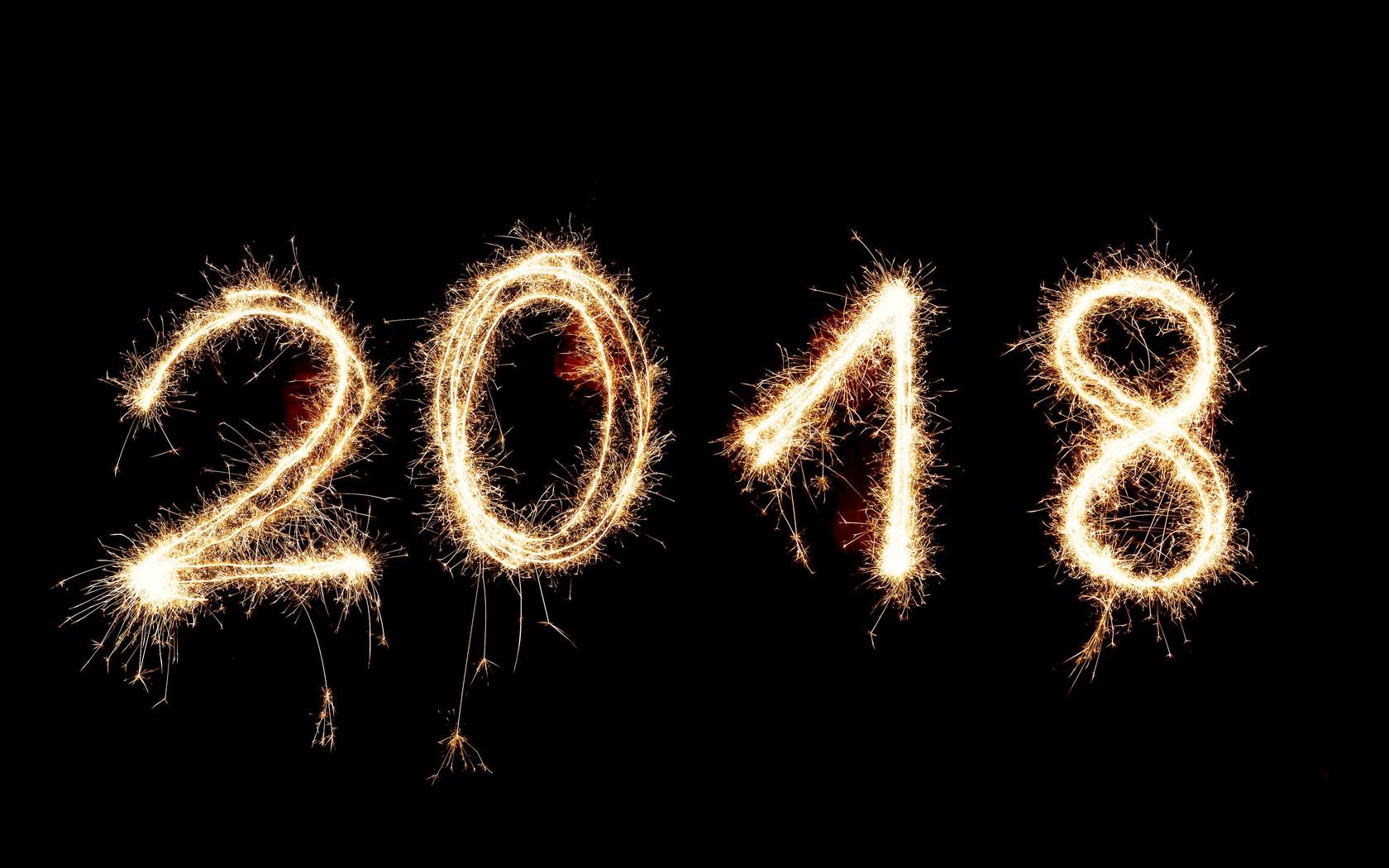 1680x1050 Happy New Year 2018 1680x1050 Resolution HD 4k