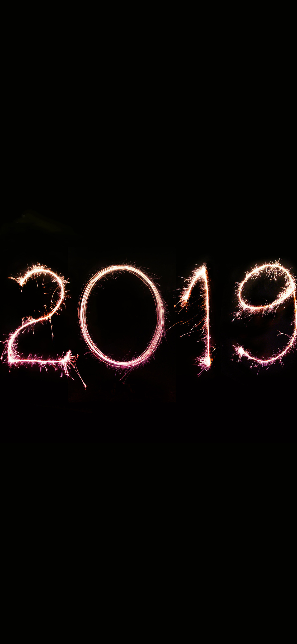 1125x2436 Happy New Year 2019 Iphone Xs Iphone 10 Iphone X Hd 4k