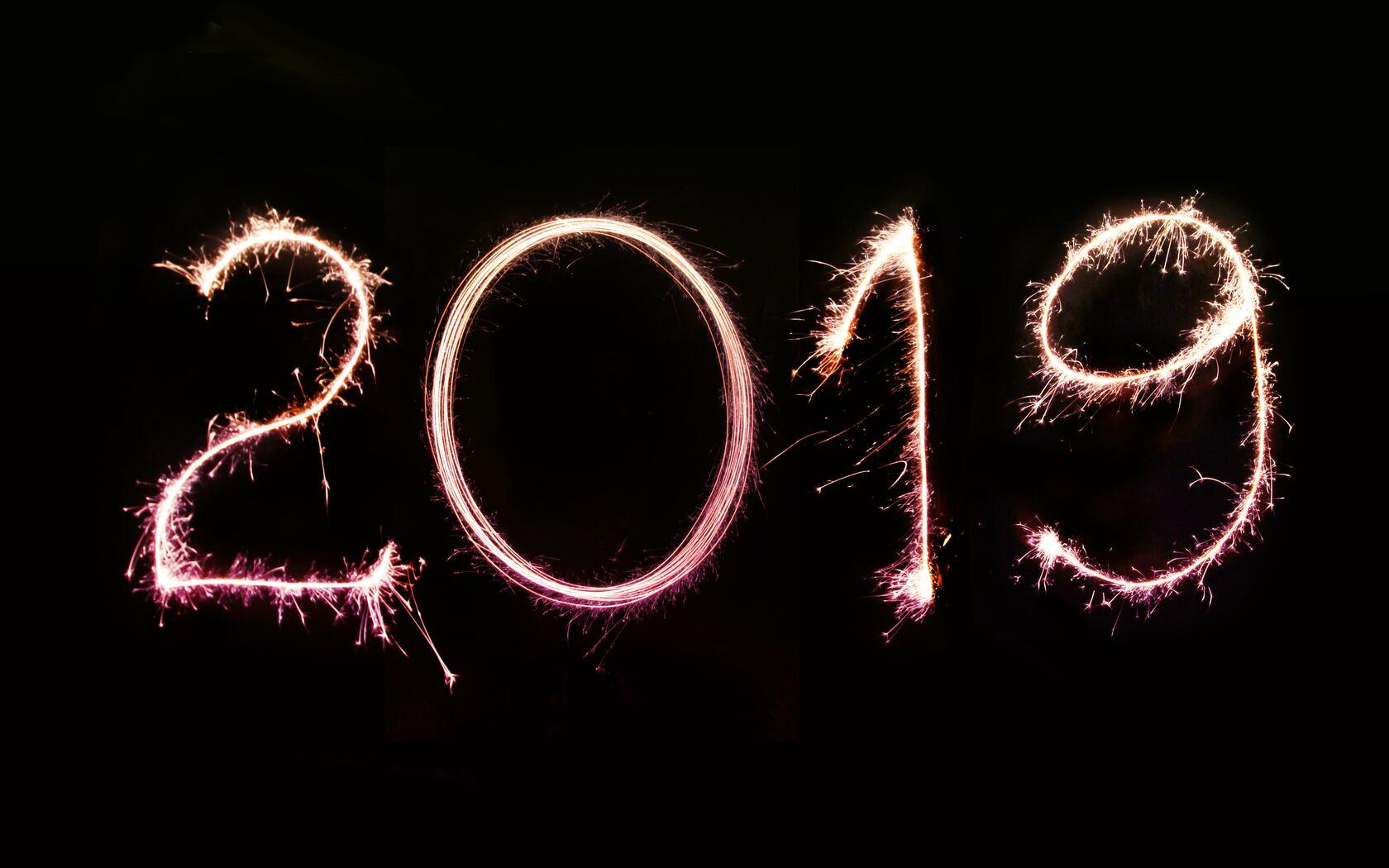 1680x1050 Happy New Year 2019 1680x1050 Resolution HD 4k