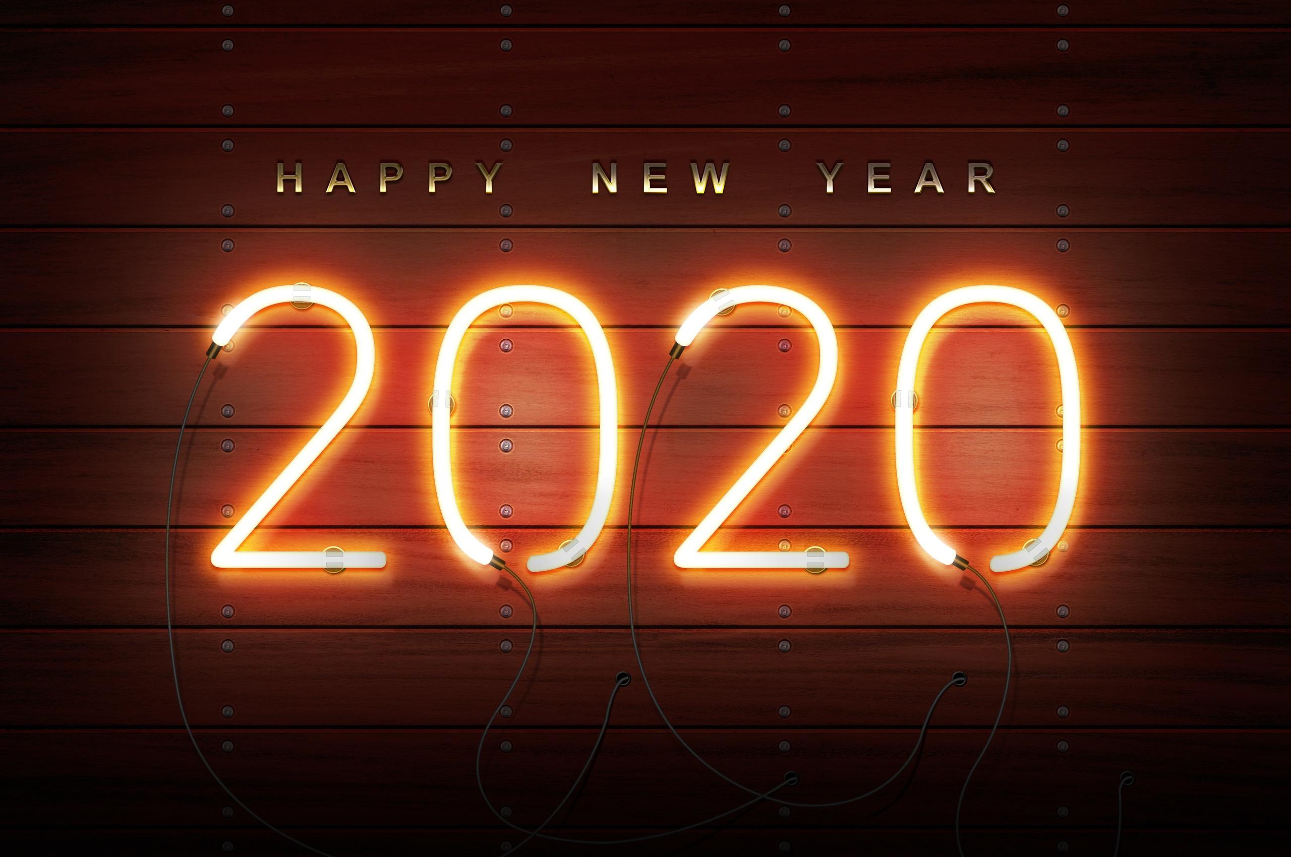 2560x1700 Happy New Year 2020 Chromebook Pixel HD 4k ...