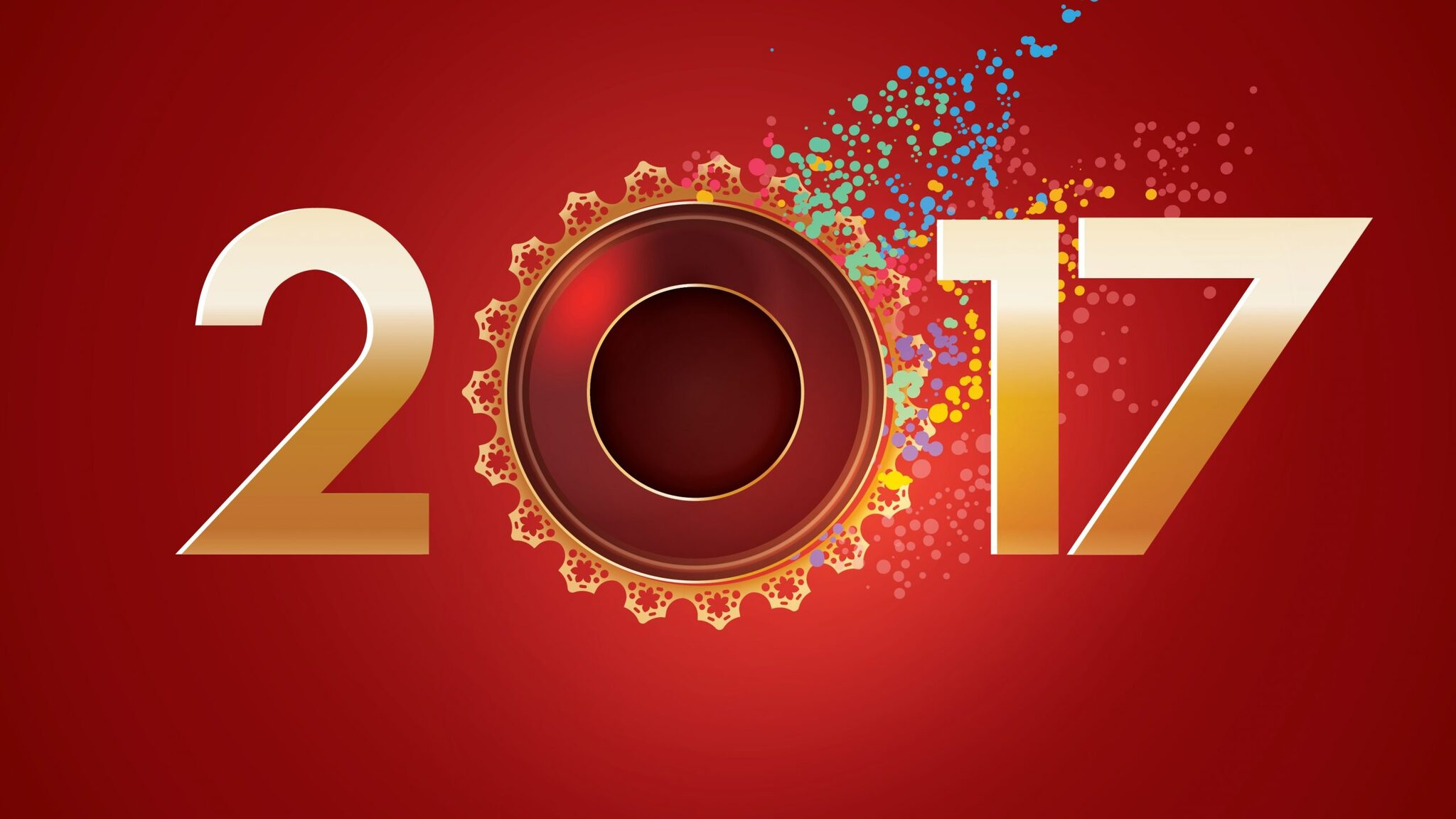 2048x1152 Happy New Year Greeting 2048x1152 Resolution HD 4k