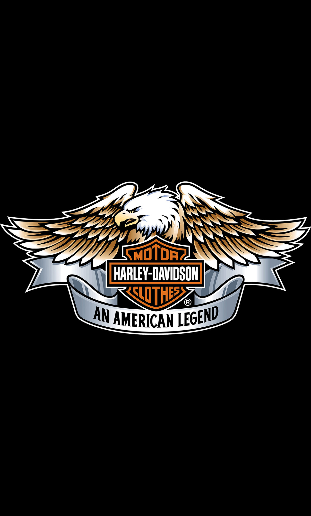 1280x2120 Harley Davidson Eagle Logo 4k Iphone 6 Hd 4k Wallpapers