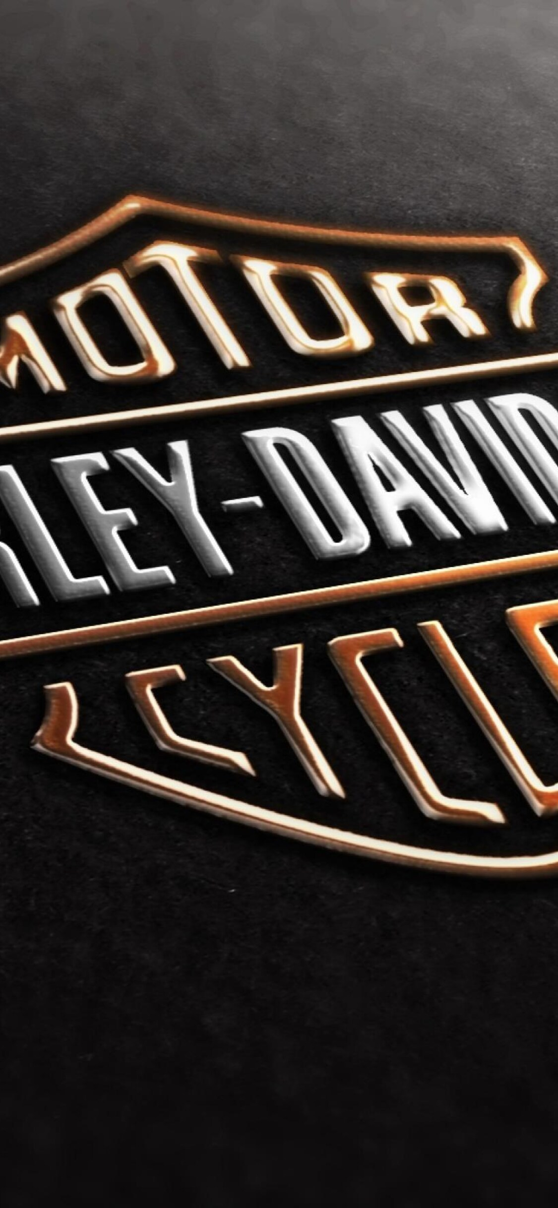 1125x2436 Harley Davidson Logo Iphone Xs Iphone 10 Iphone X