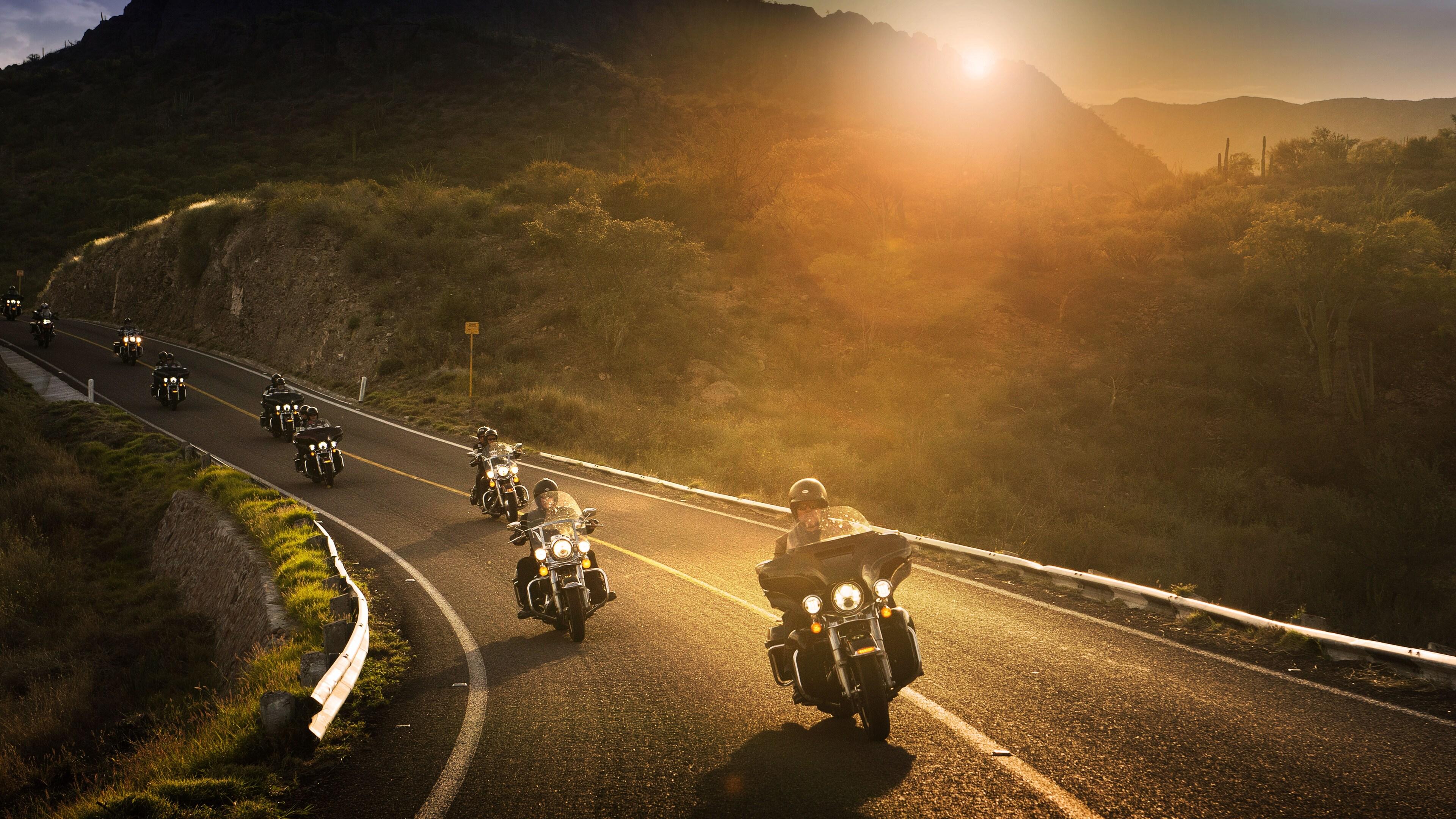 3840x2160 Harley Davidson Riders 8k 4k HD 4k Wallpapers