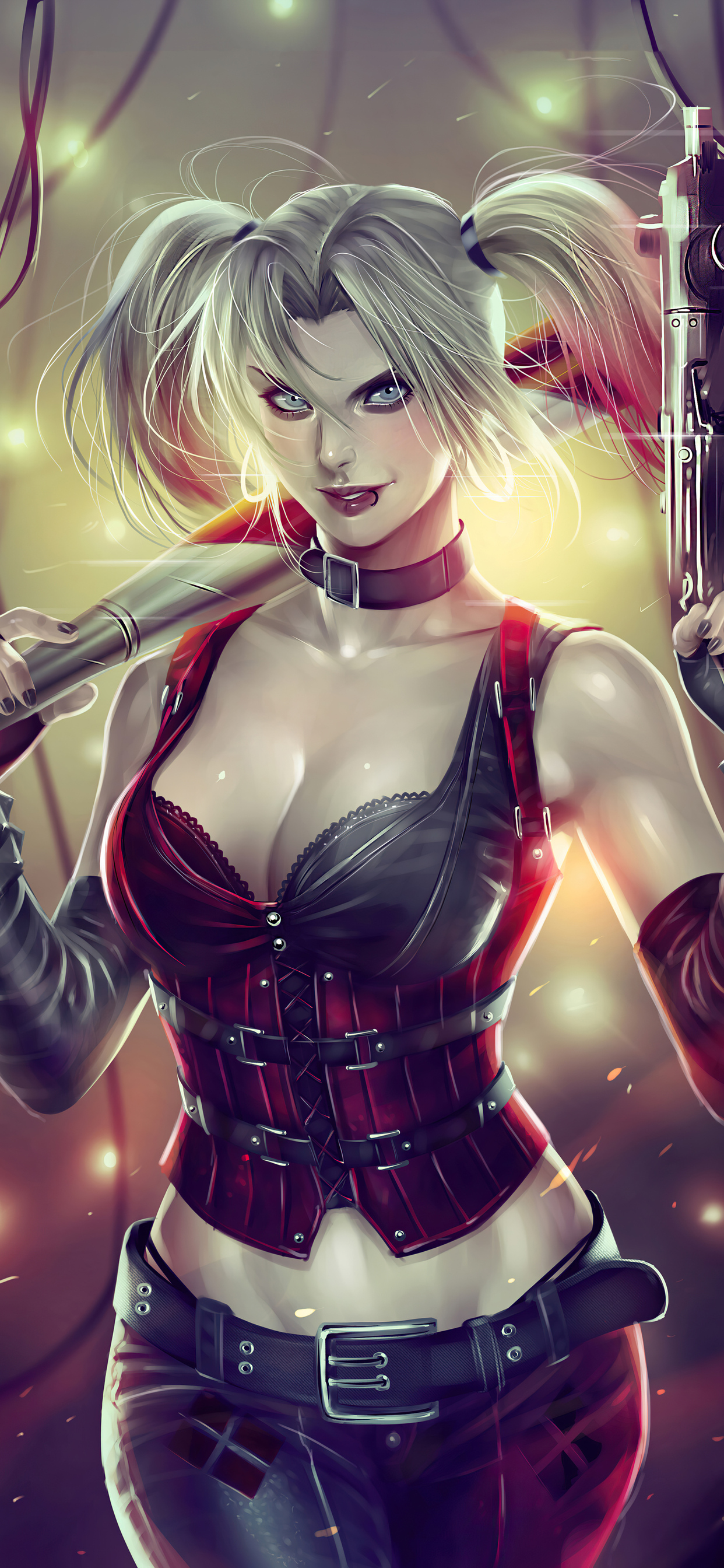 1242x2688 Harley Quinn 2020 4k Iphone XS MAX HD 4k ...