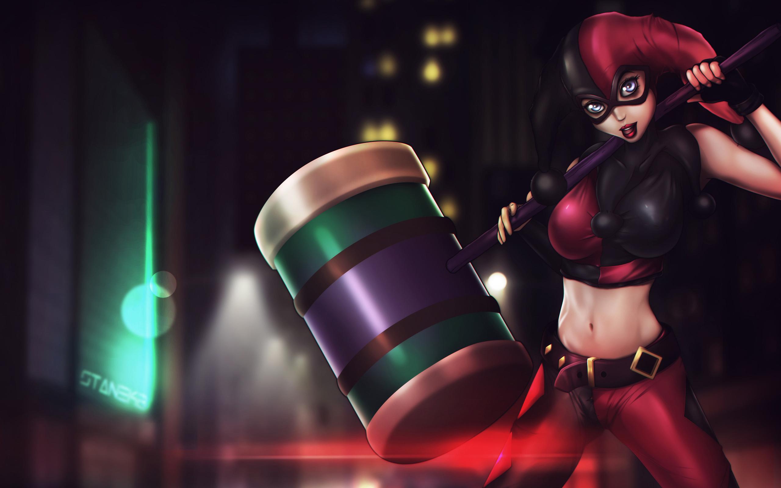 2560x1600 Harley Quinn Assault On Arkham Asylum 2560x1600
