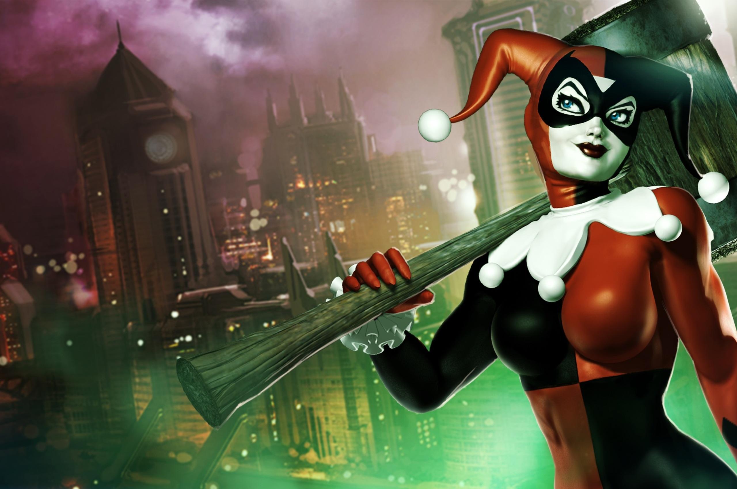 2560x1700 Harley Quinn Batman Arkham Knight Chromebook Pixel Hd 4k