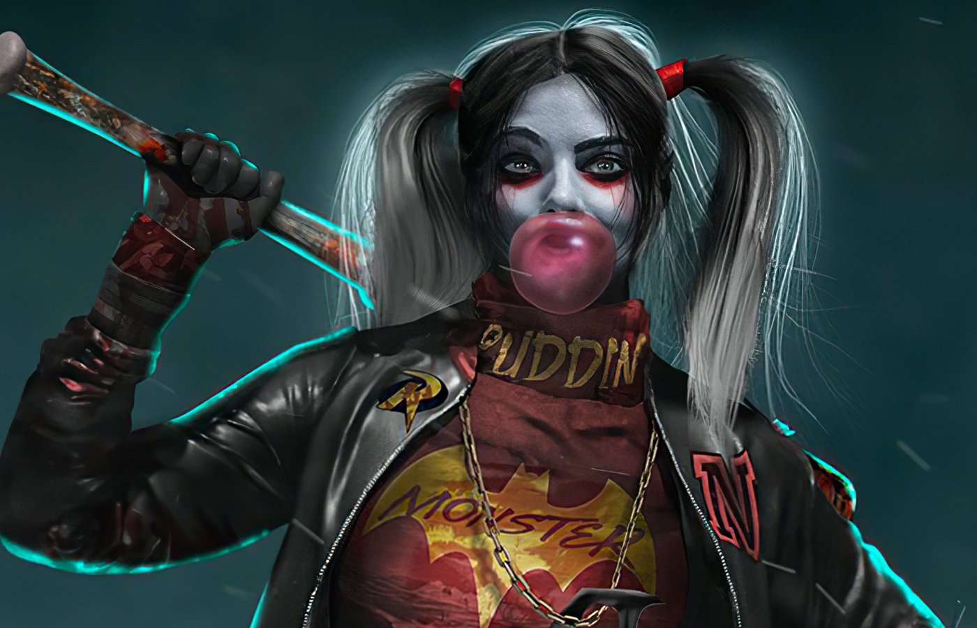 1400x900 Harley Quinn Bosslogic 1400x900 Resolution HD 4k Wa