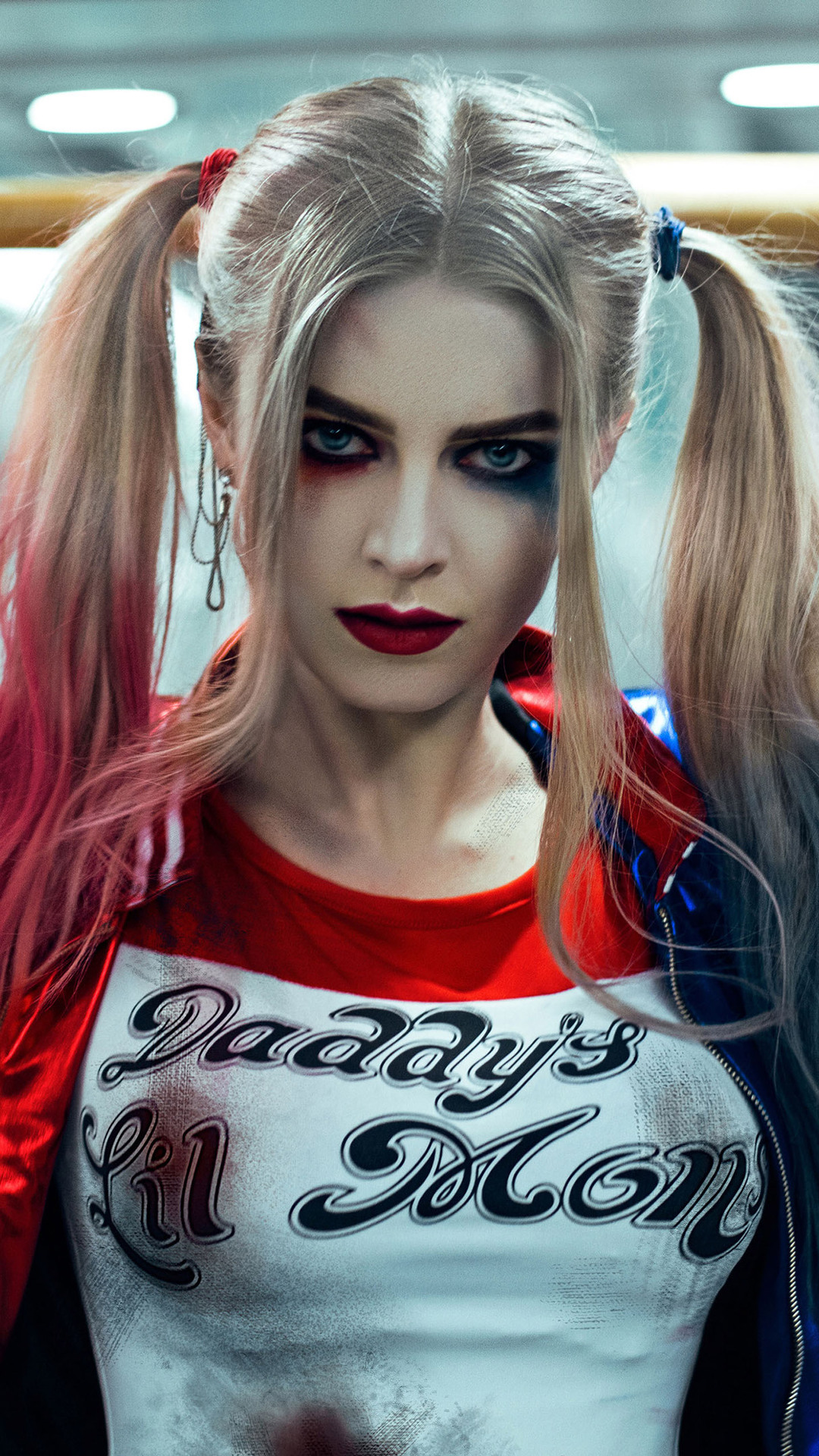 1080x1920 Harley Quinn Cosplay 2 Iphone 7 6s 6 Plus Pixel Xl One