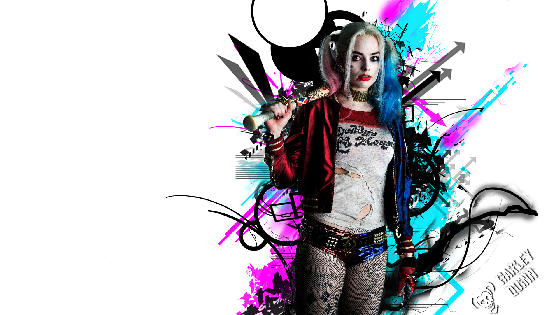 1920x1080 harley quinn hd laptop full hd 1080p hd 4k - Harley quinn hd wallpapers for android ...