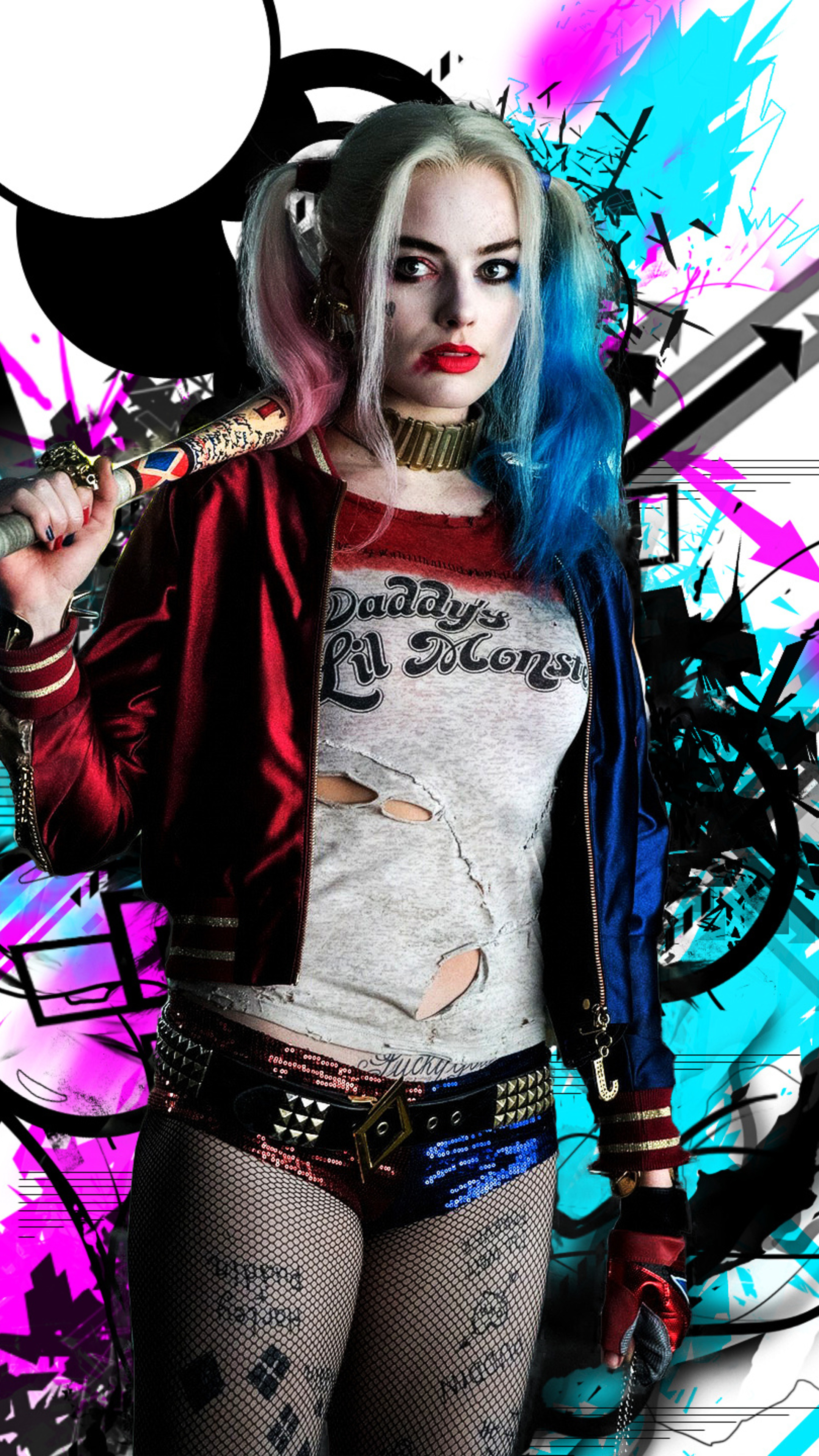 2160x3840 Harley Quinn HD Sony Xperia X,XZ,Z5 Premium HD ...