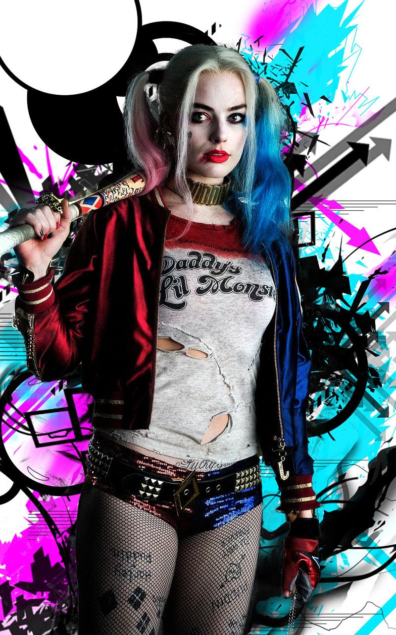 Fantastic Wallpaper Logo Harley Quinn - harley-quinn-hd-cx-800x1280  You Should Have_775551.jpg