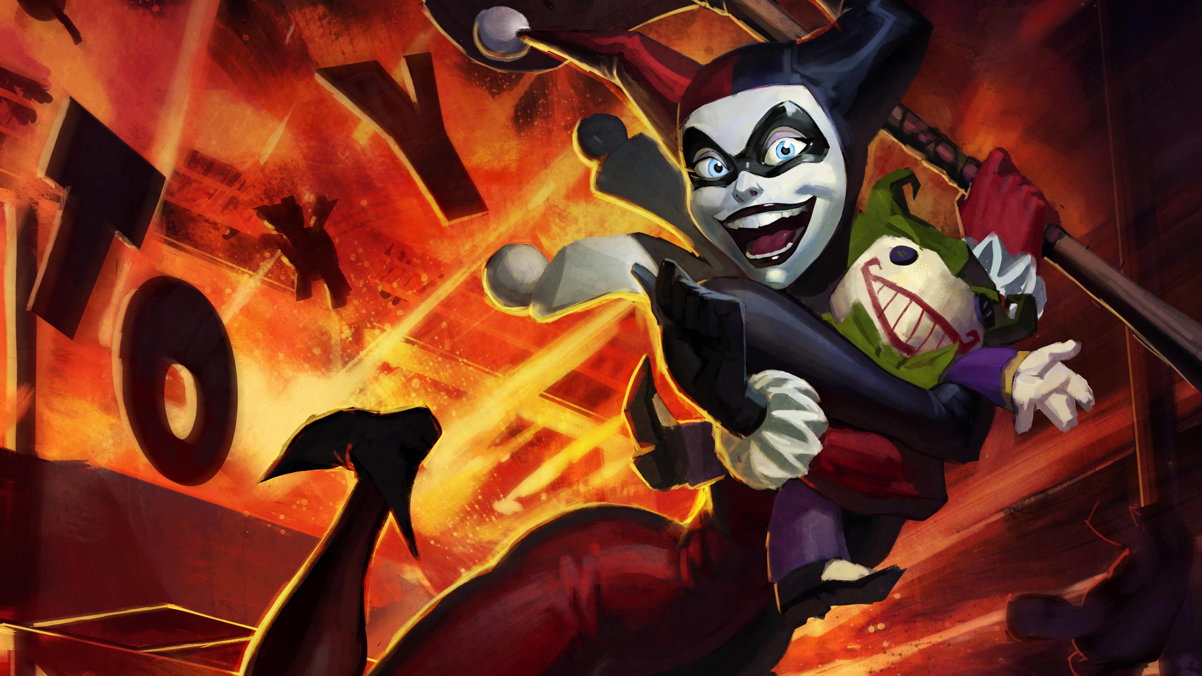 3840x2160 Harley Quinn Infinite Crisis 4k HD 4k Wallpapers ...