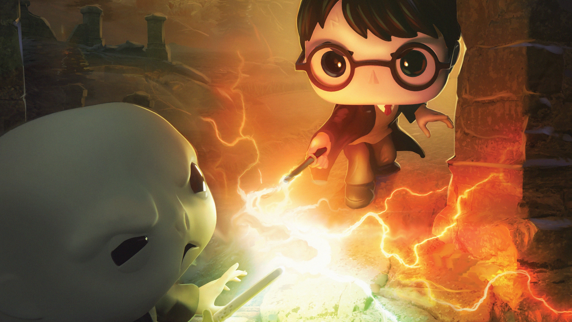 1920x1080 Harry Potter Dc Funkoverse 4k Laptop Full Hd 1080p Hd 4k Wallpapers Images Backgrounds Photos And Pictures