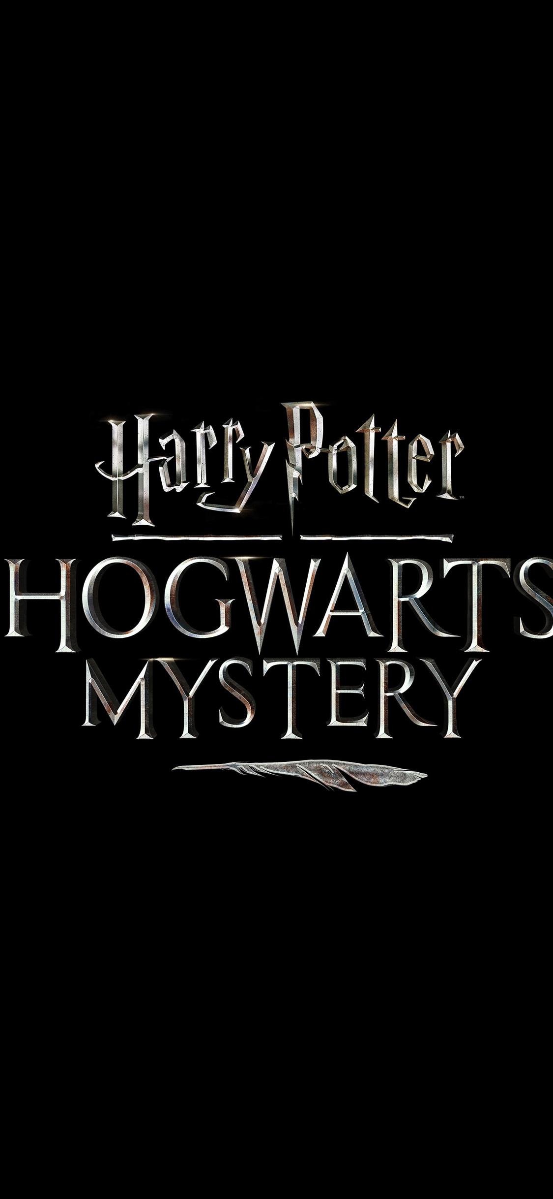1125x2436 Harry Potter Hogwarts Mystery Game Logo Iphone Xs
