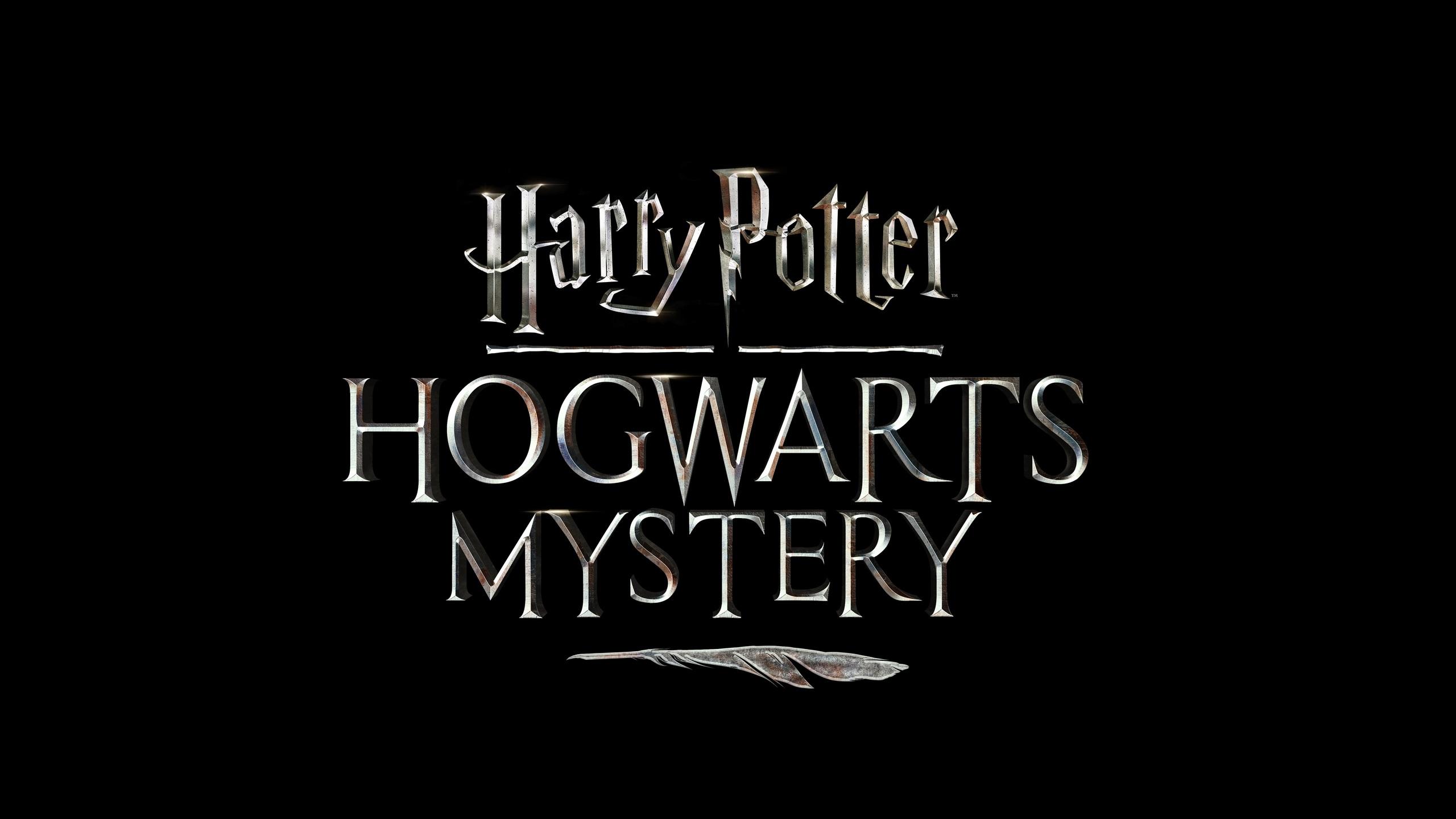 2560x1440 harry potter hogwarts mystery game logo 1440p