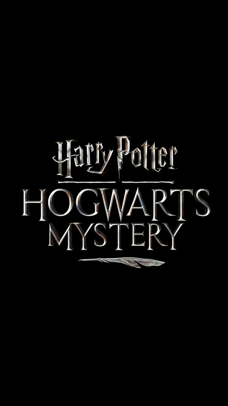 750x1334 Harry Potter Hogwarts Mystery Game Logo Iphone 6