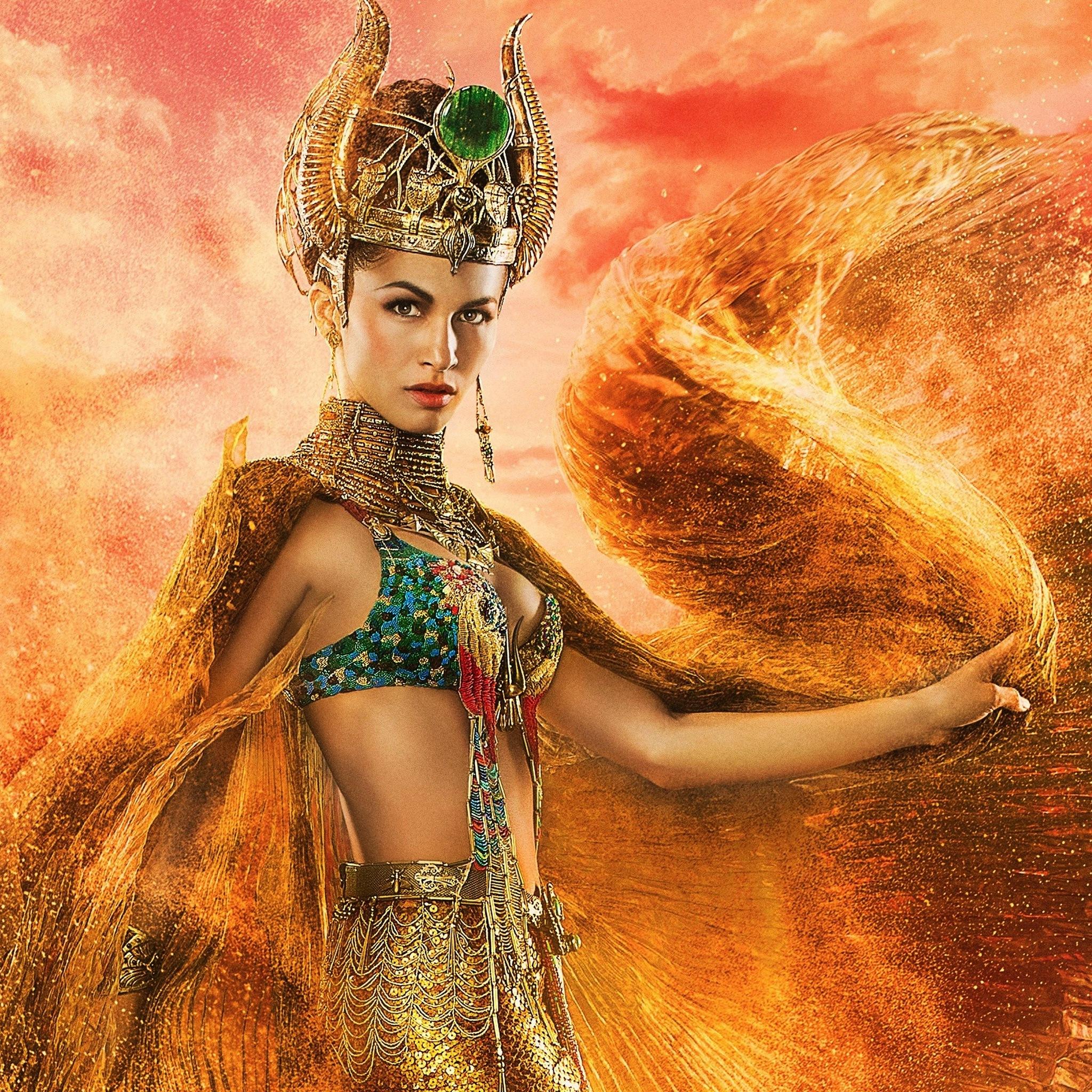 2048x2048 Hathor Gods Of Egypt Ipad Air Hd 4k Wallpapers