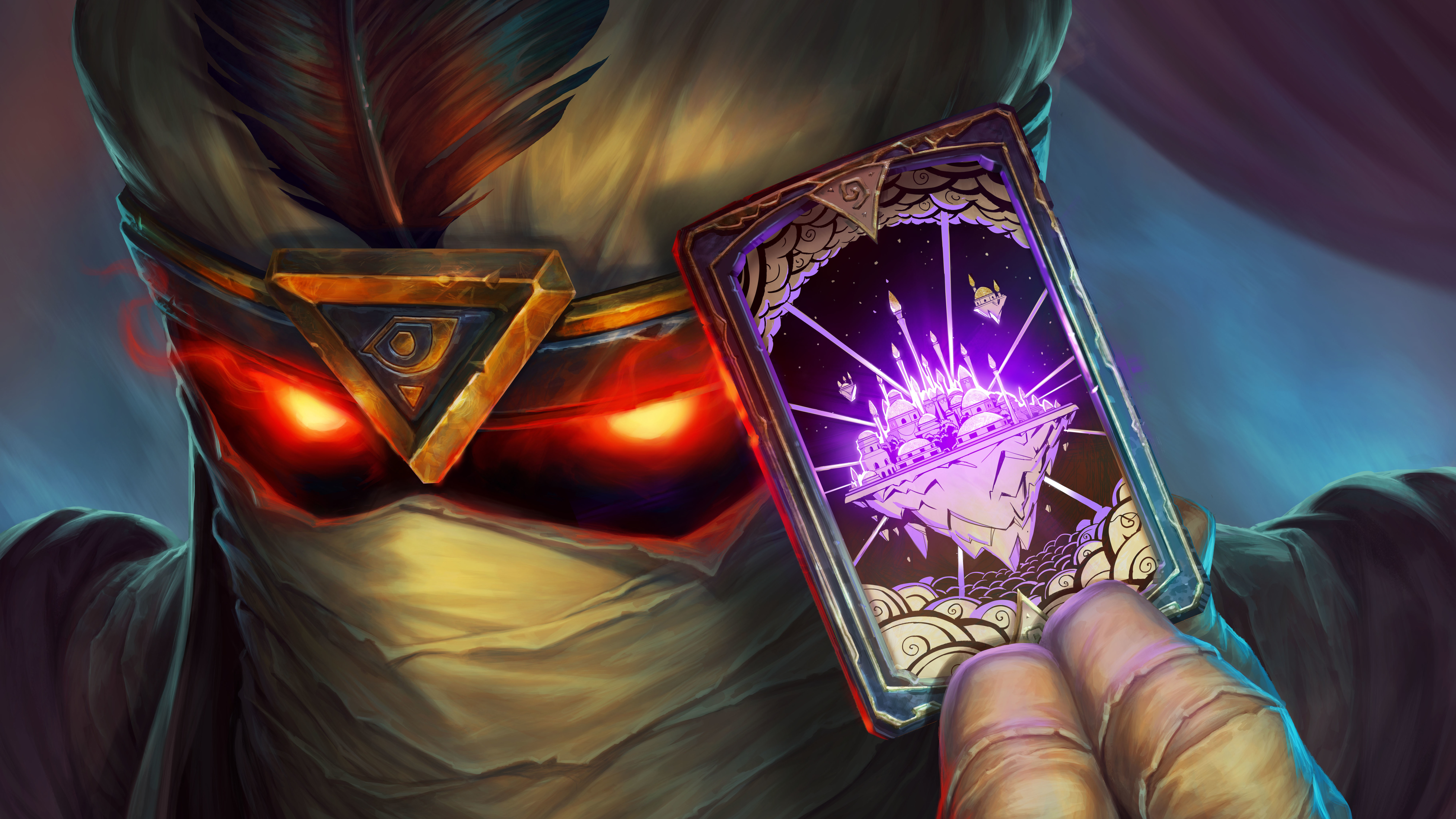 7680x4320 Hearthstone Rise Of Shadows 8k HD 4k Wallpapers