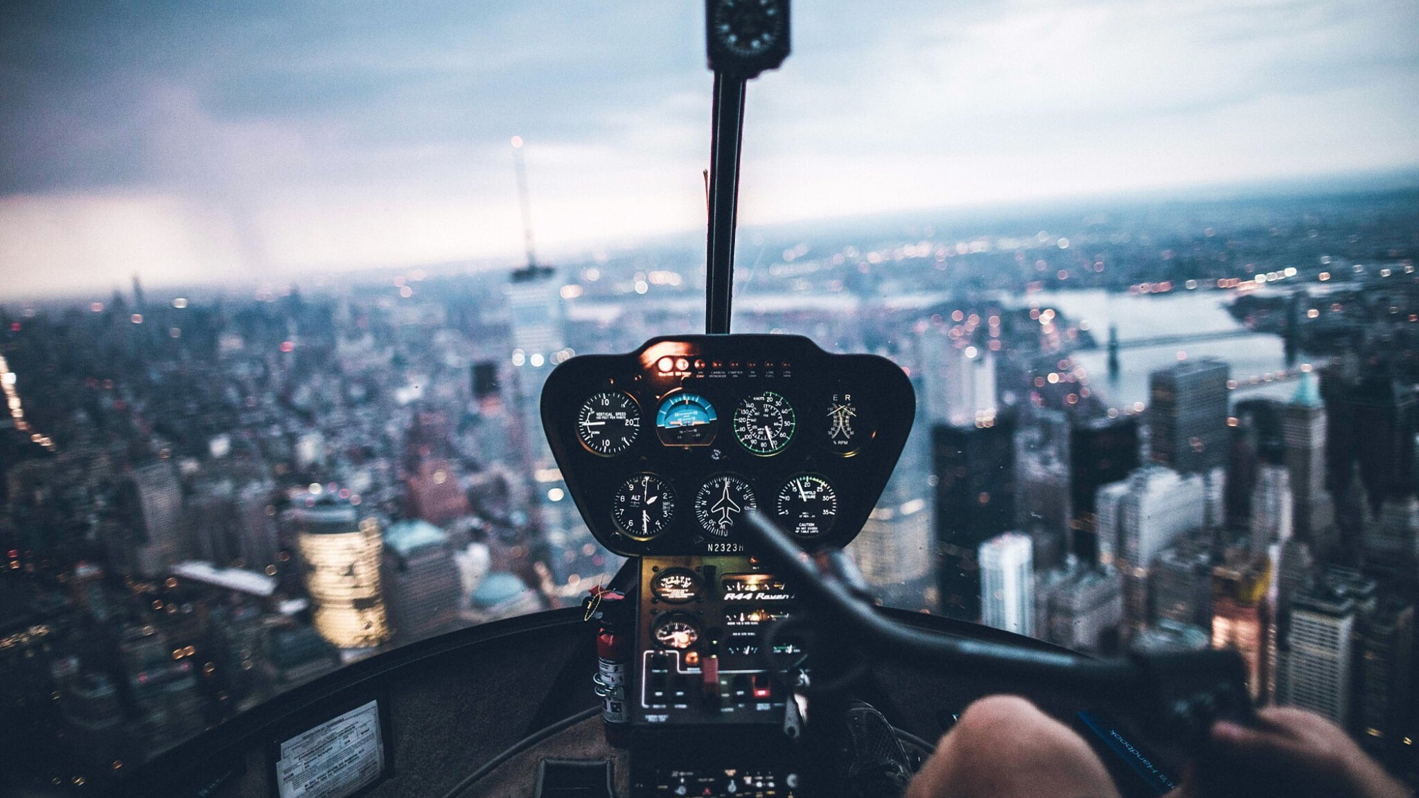 2048x1152 helicopter inside view 2048x1152 resolution hd