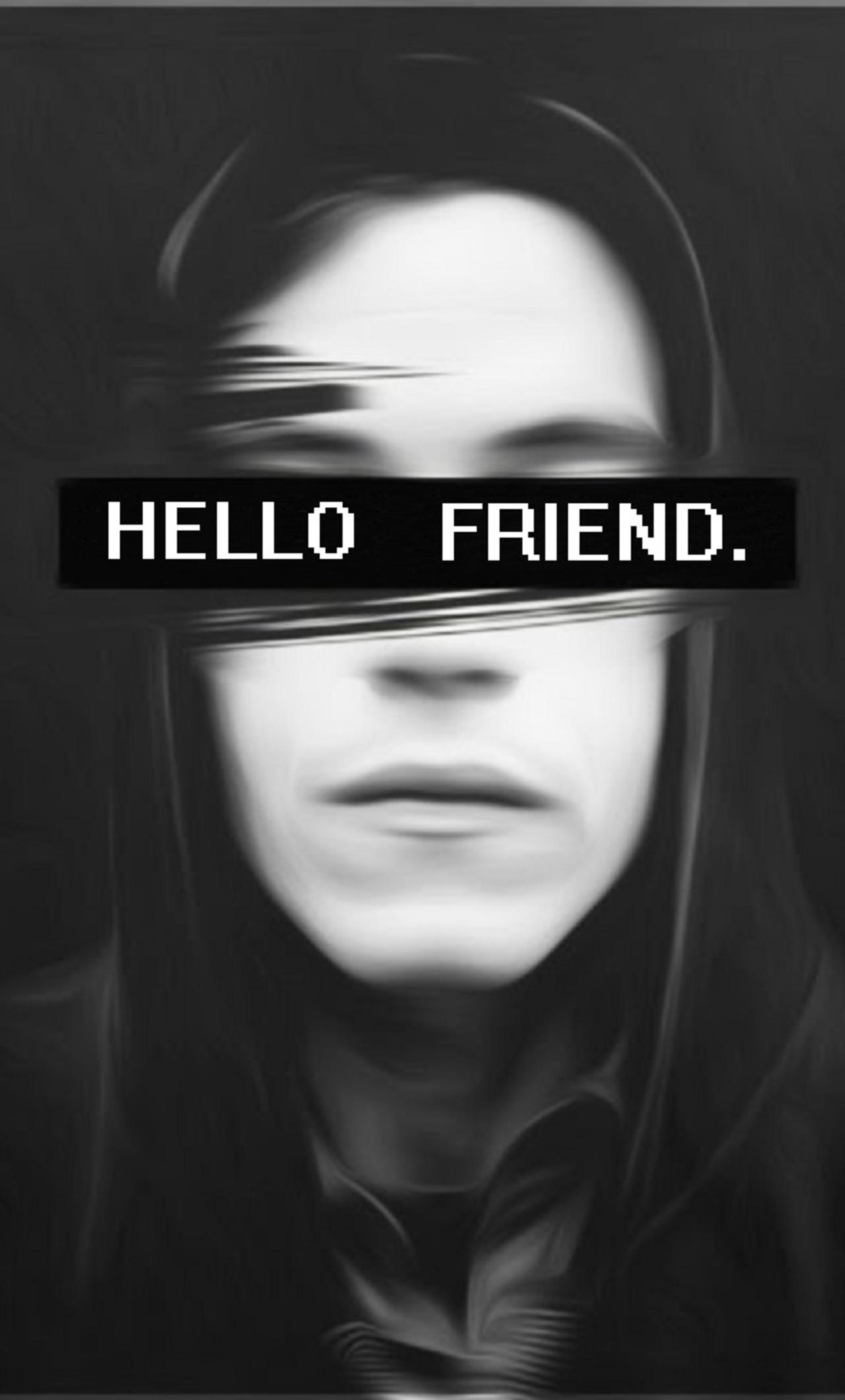 Hello Friend Mr Robot Ud