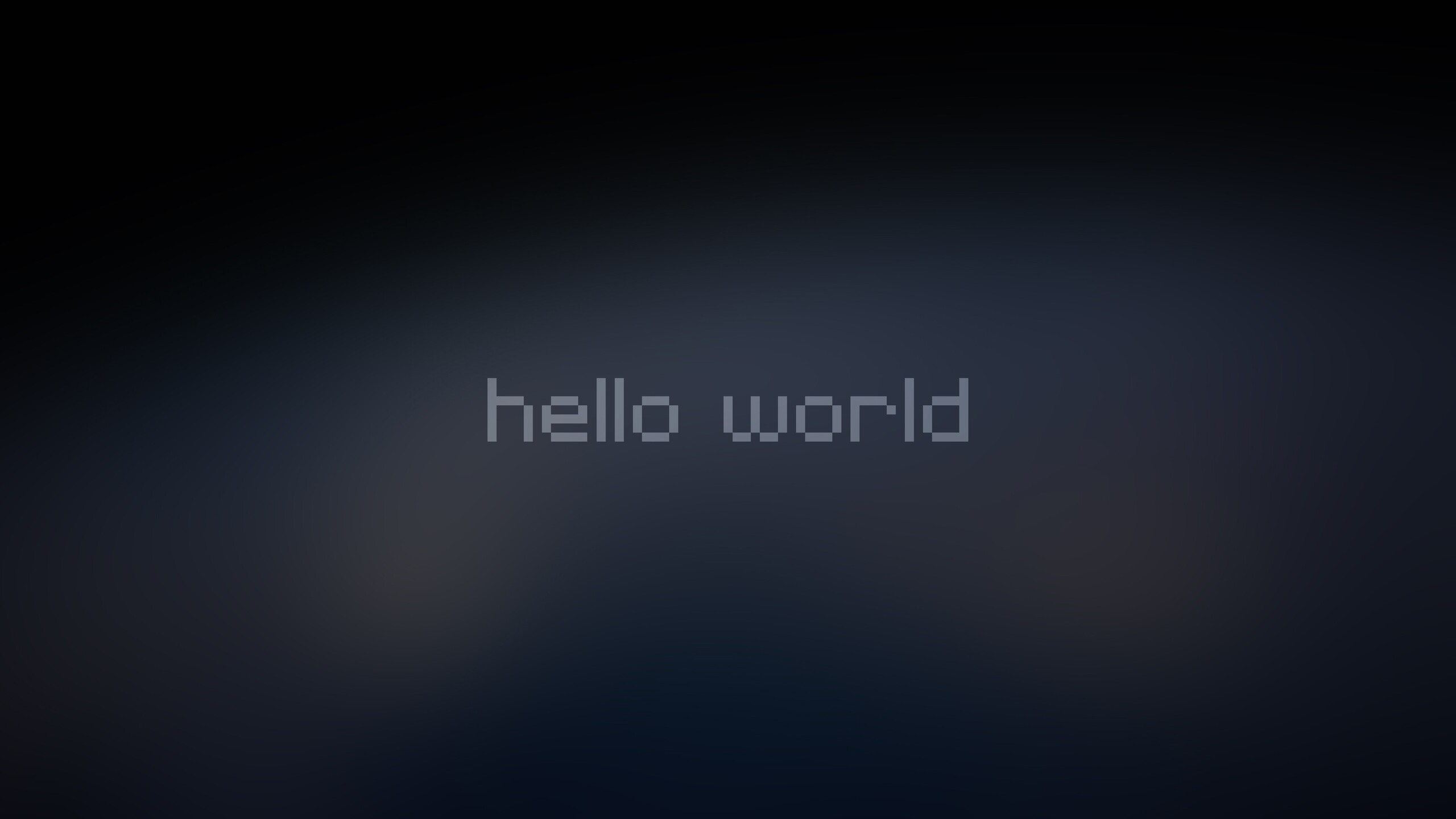 2560x1440 Hello World 4k 1440p Resolution Hd 4k Wallpapers