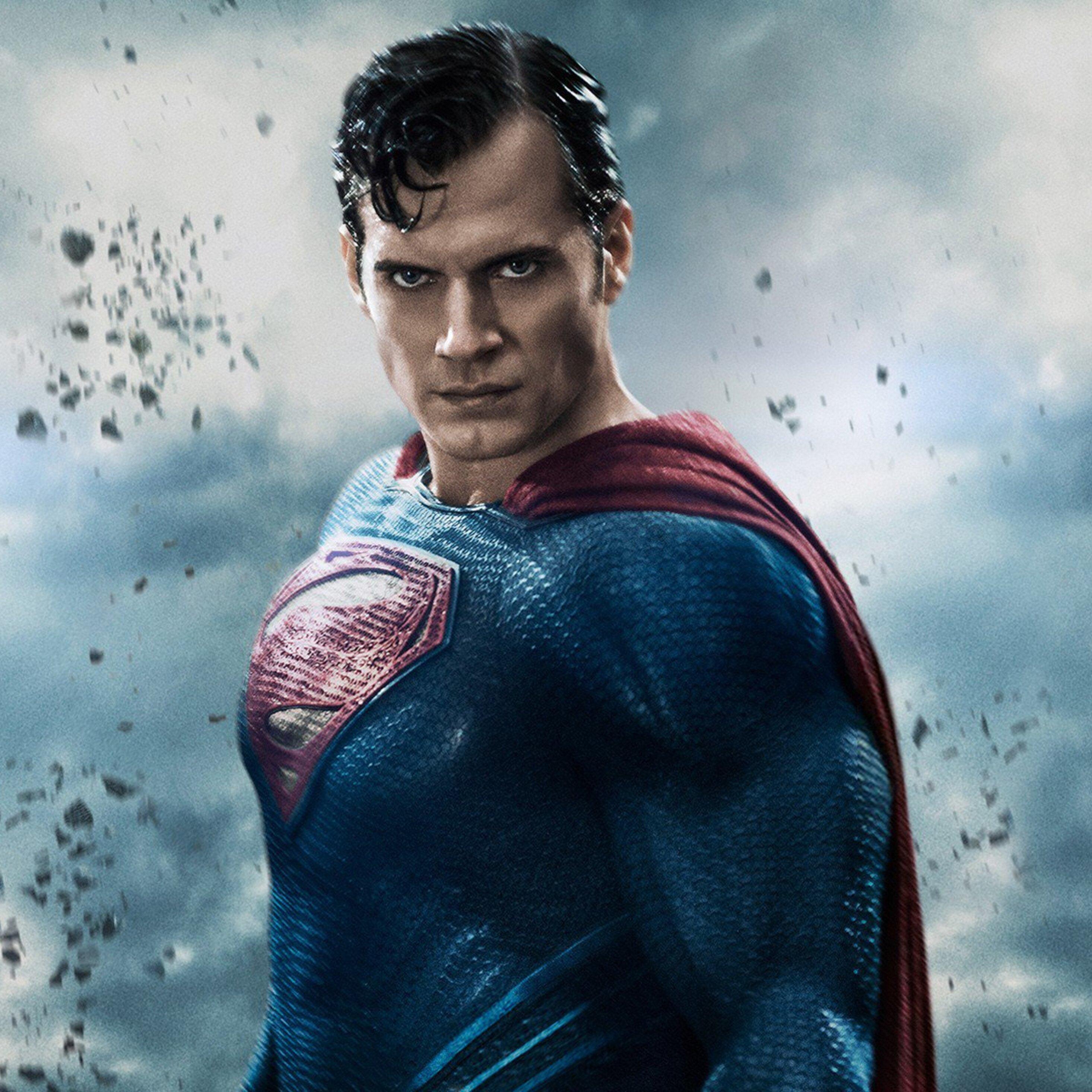 2932x2932 henry cavill in batman vs superman movie ipad - Super batman movie ...