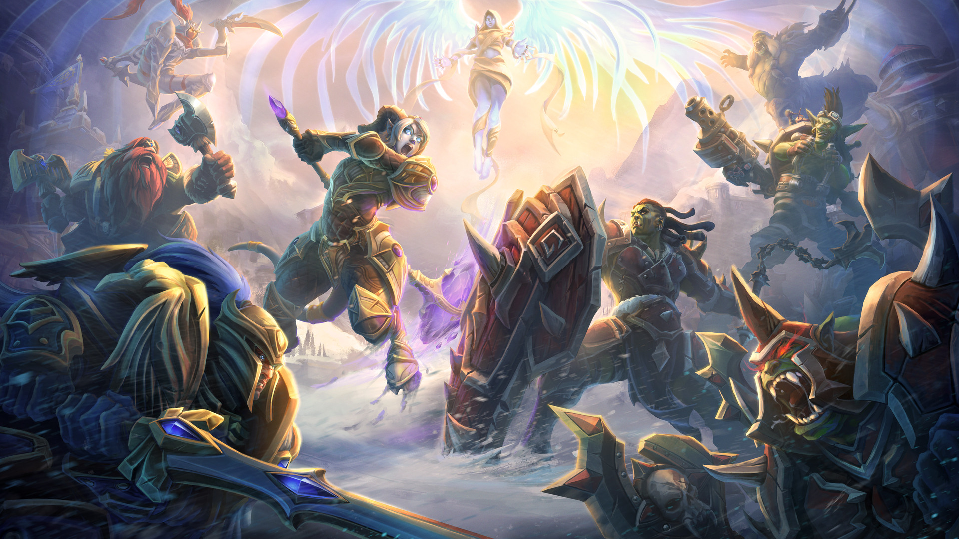 1920x1080 Heroes Of The Storm 10k Laptop Full Hd 1080p Hd 4k