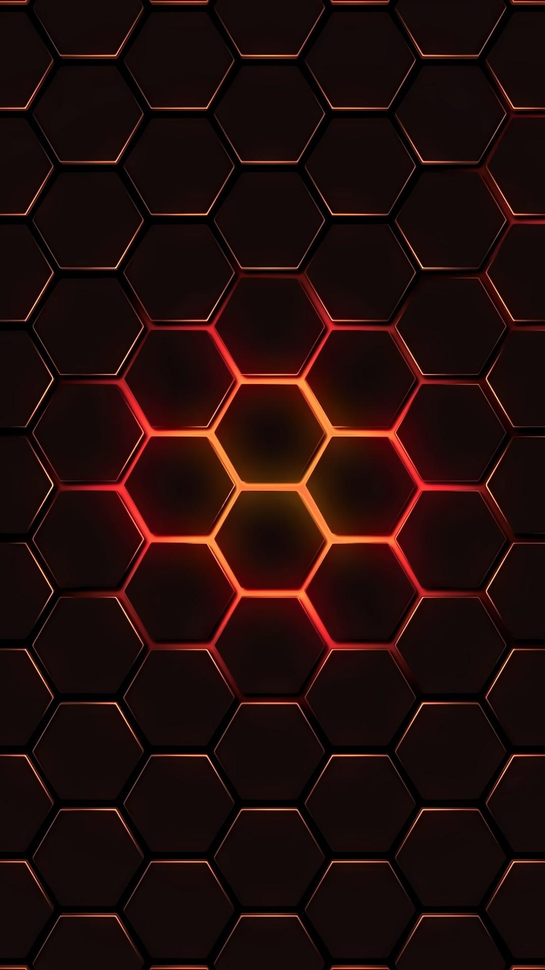 1080x1920 Hexagon Geometry 4k Iphone 7 6s 6 Plus Pixel xl e Plus