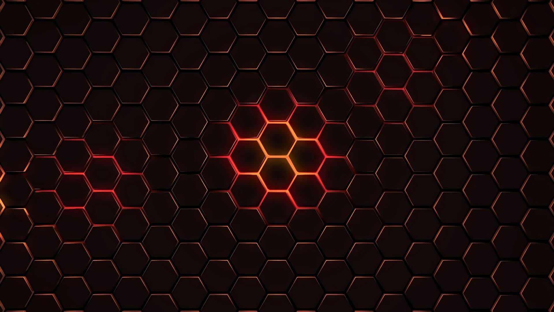 Hexagon Geometry 4k Laptop Full HD 1080P HD 4k Wallpapers