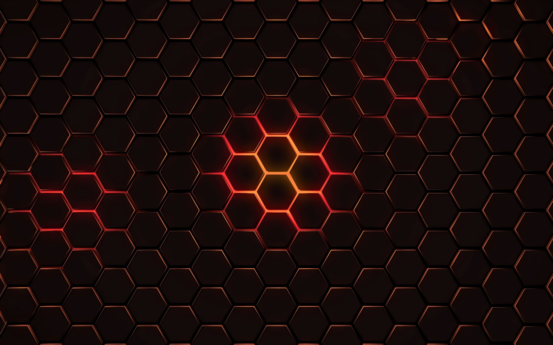 Simple Wallpaper Macbook Geometric - hexagon-geometry-4k-od-2880x1800  Trends_183168.jpg