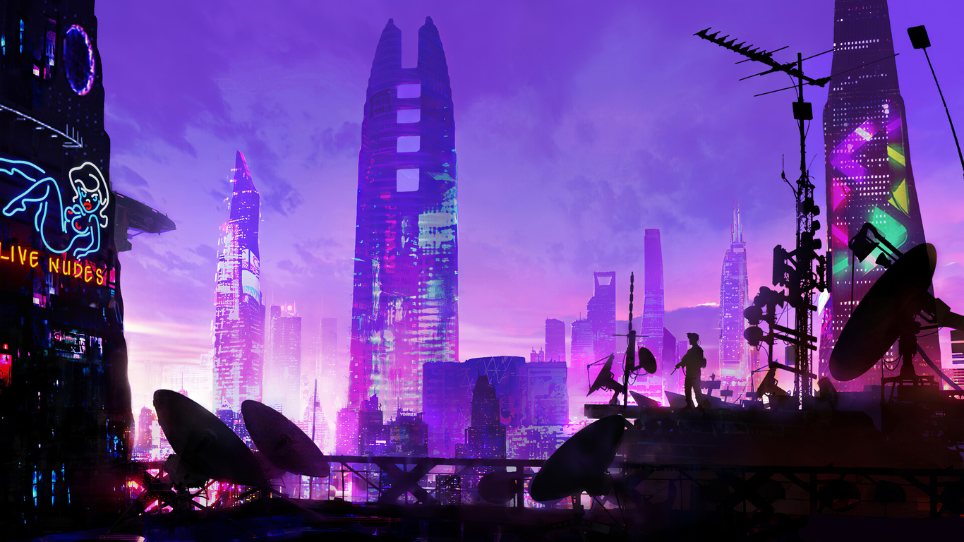 1366x768 Heylim City Cyberpunk 4k 1366x768 Resolution Hd 4k Wallpapers Images Backgrounds Photos And Pictures