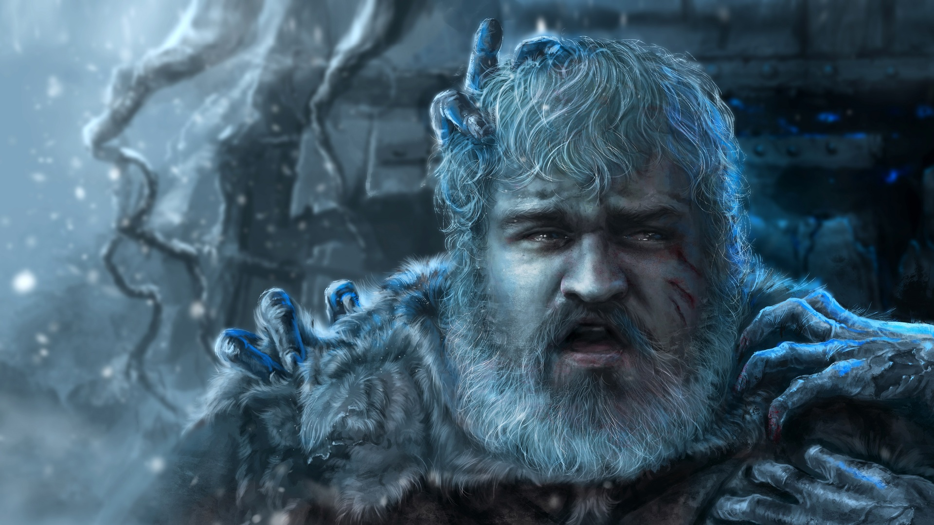1920x1080 hodor game of thrones art laptop full hd 1080p hd 4k wallpapers images backgrounds. Black Bedroom Furniture Sets. Home Design Ideas