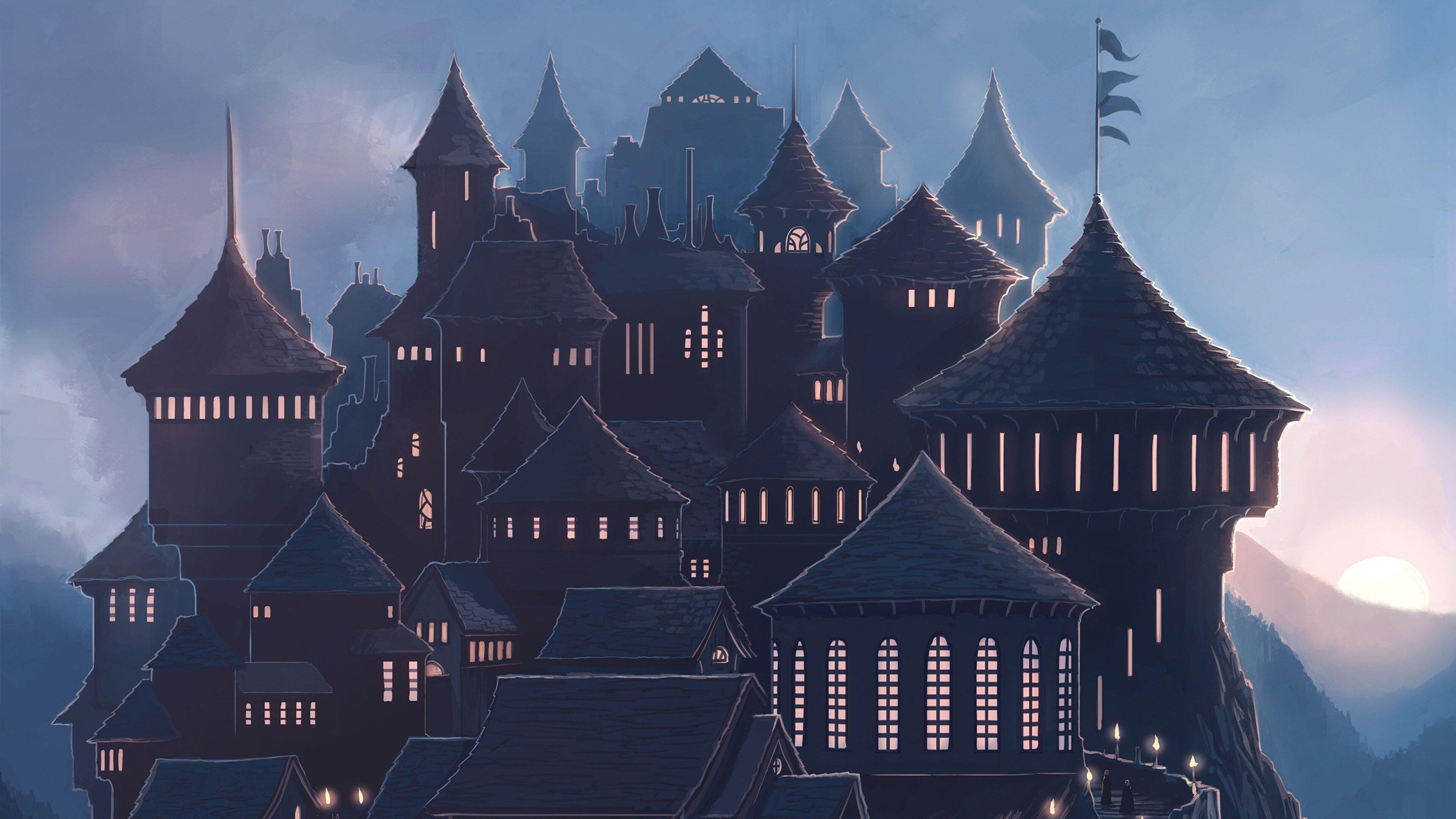 3840x2160 Hogwarts 4k HD 4k Wallpapers, Images ...