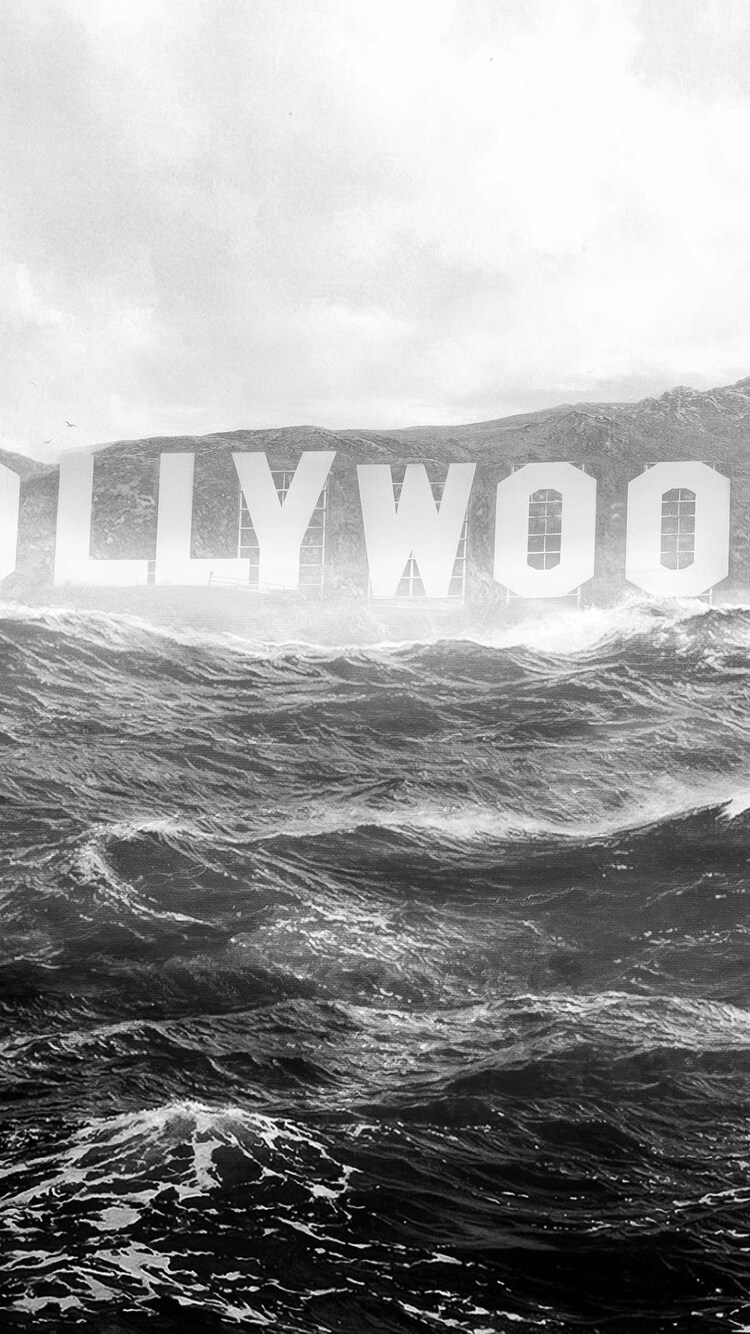 750x1334 Hollywood Monochrome Iphone 6 Iphone 6s Iphone 7