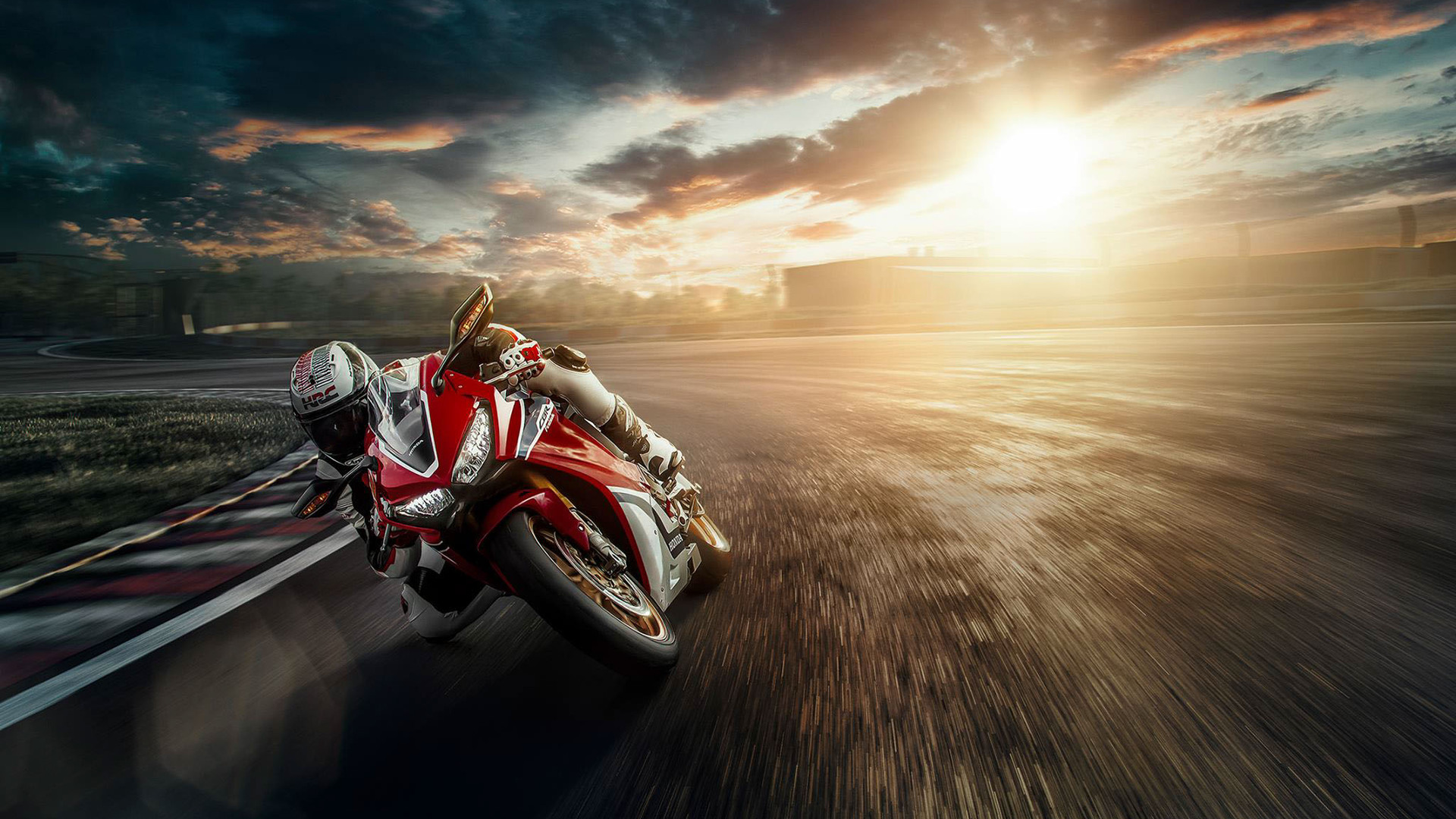 1920x1080 Honda Motorcycle Track Bike Laptop Full Hd 1080p Hd 4k Wallpapers Images Backgrounds Photos And Pictures