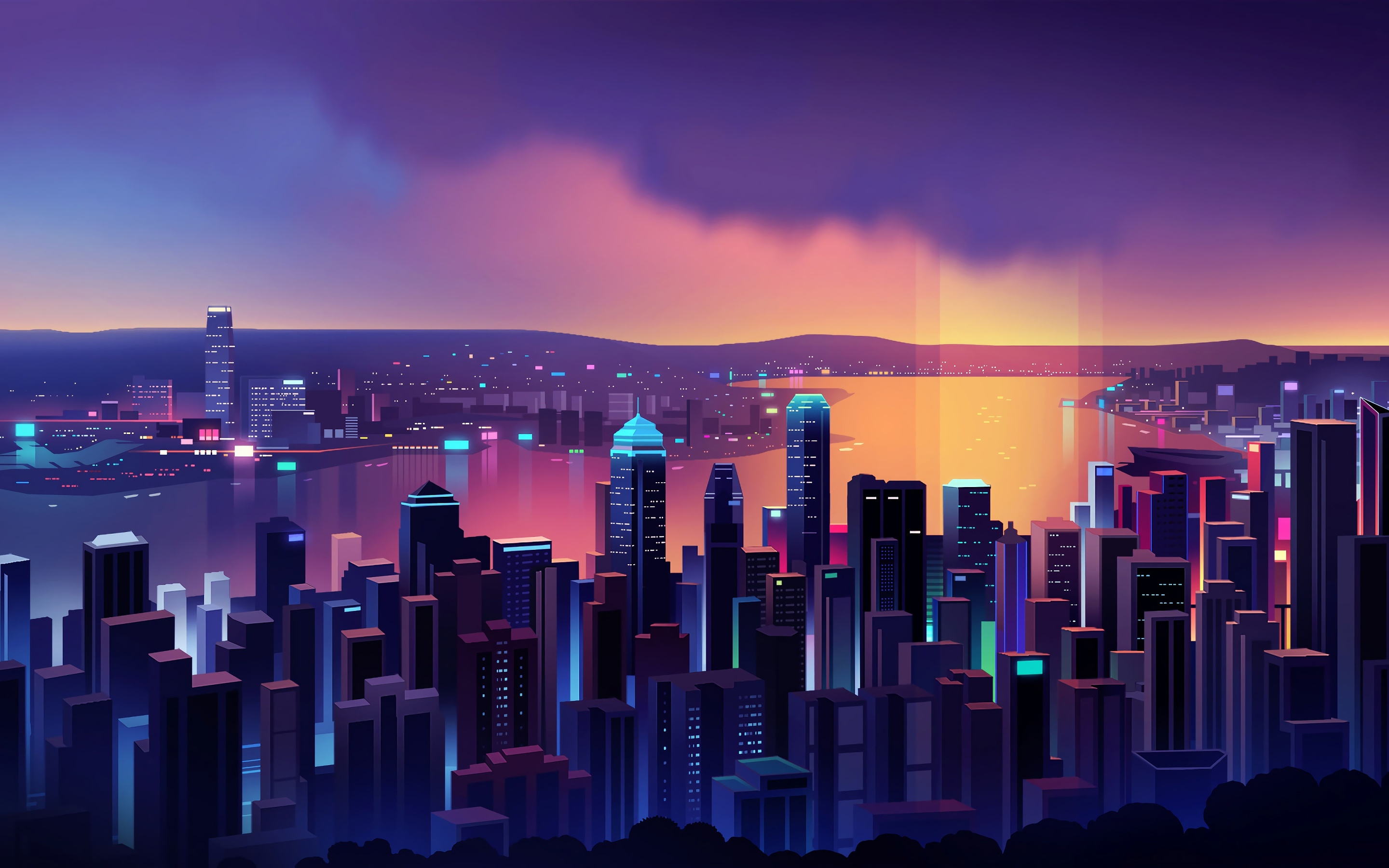 2880x1800 Hong Kong Minimal 4k Macbook Pro Retina Hd 4k Wallpapers Images Backgrounds Photos And Pictures