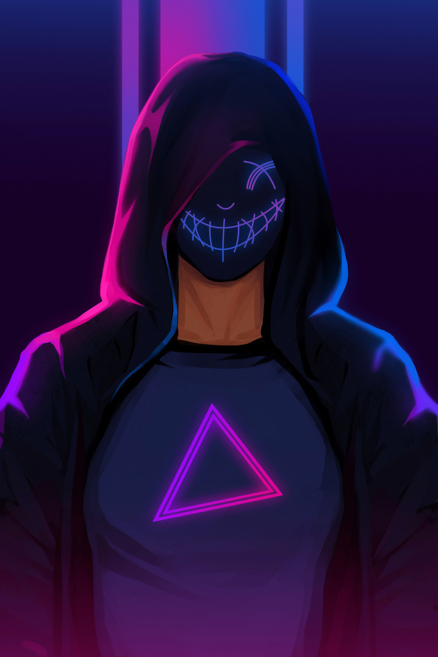 640x960 Hoodie Mask Guy Minimalism 4k Iphone 4 Iphone 4s Hd 4k Wallpapers Images Backgrounds Photos And Pictures