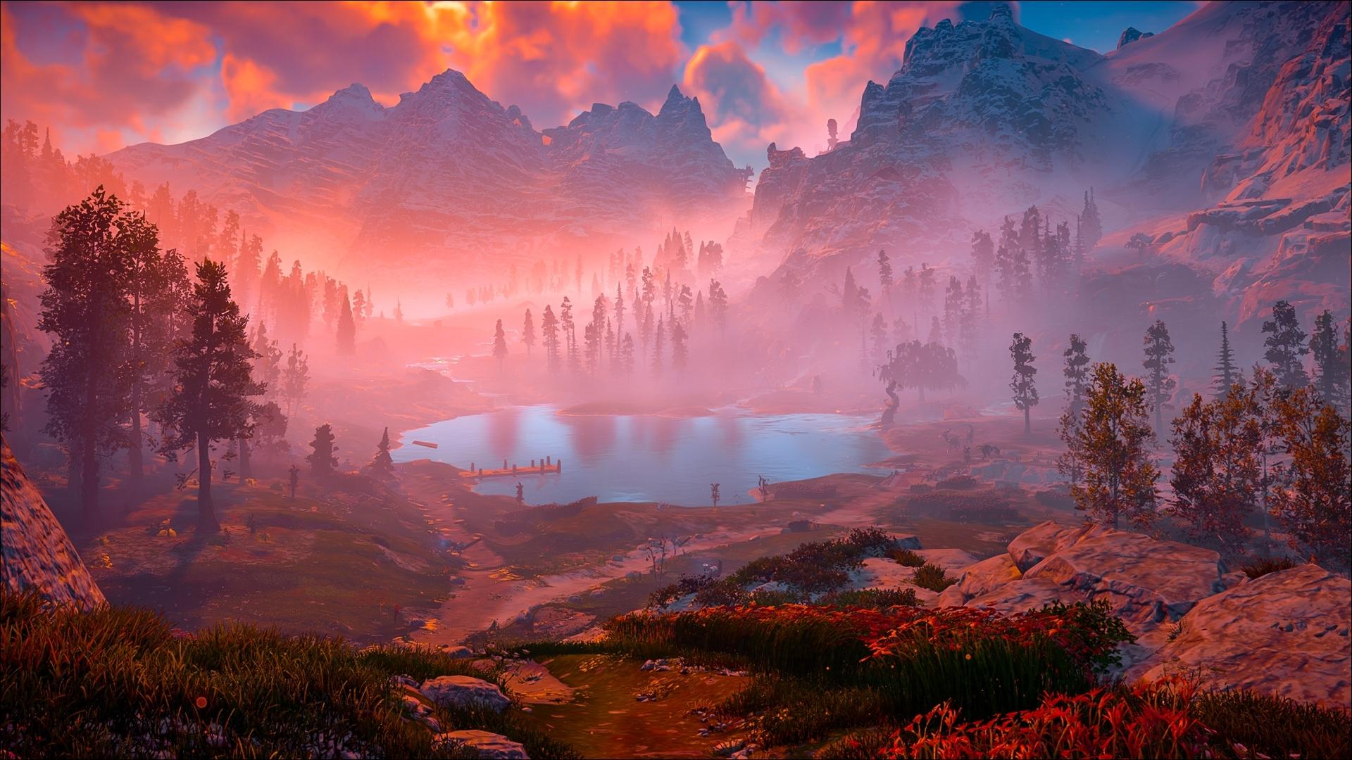 1920x1080 Horizon Zero Dawn Game Nature Laptop Full HD ...