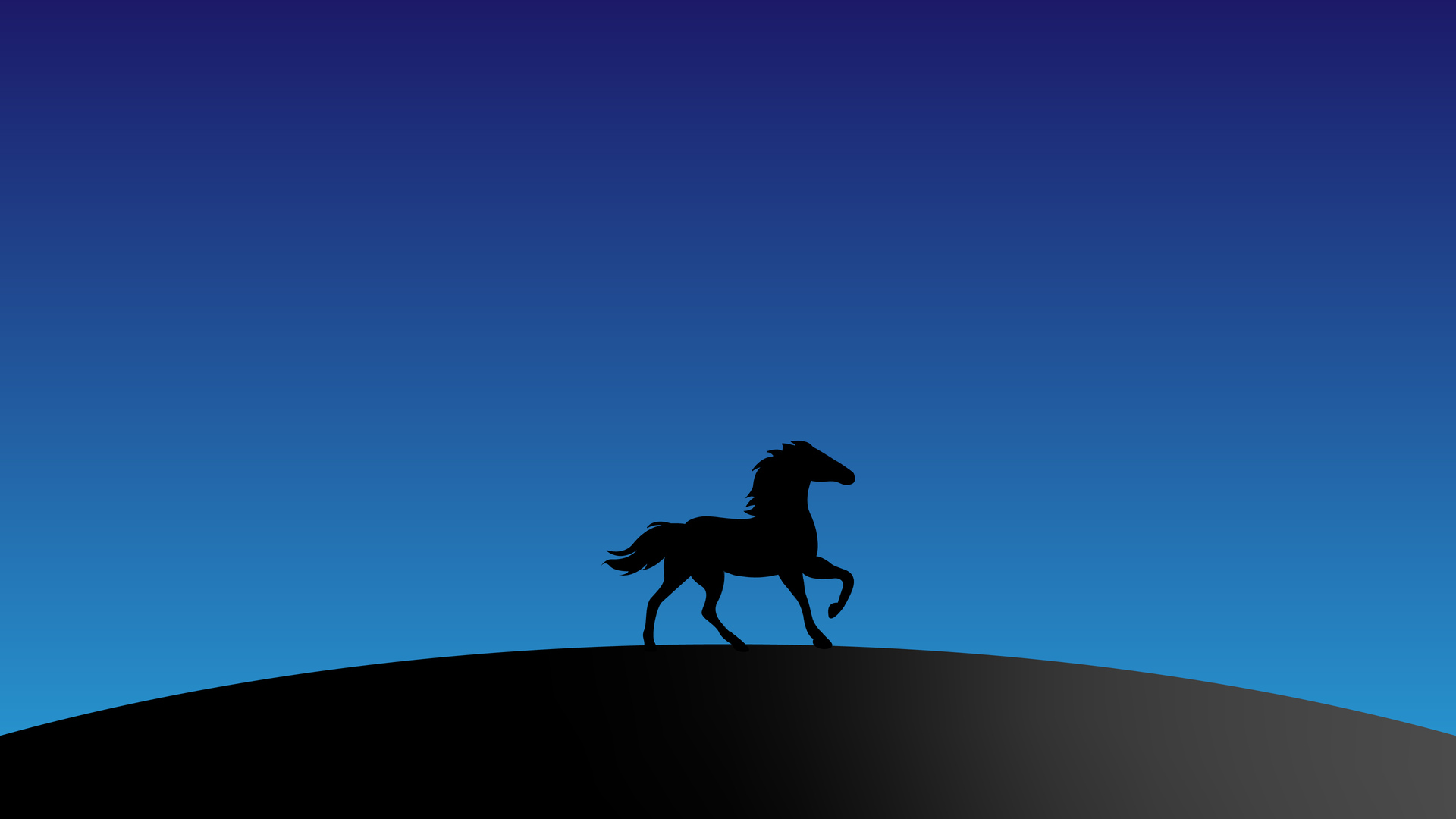 1920x1080 Horse Silhouette Minimal 4k Laptop Full Hd 1080p Hd 4k Wallpapers Images Backgrounds Photos And Pictures