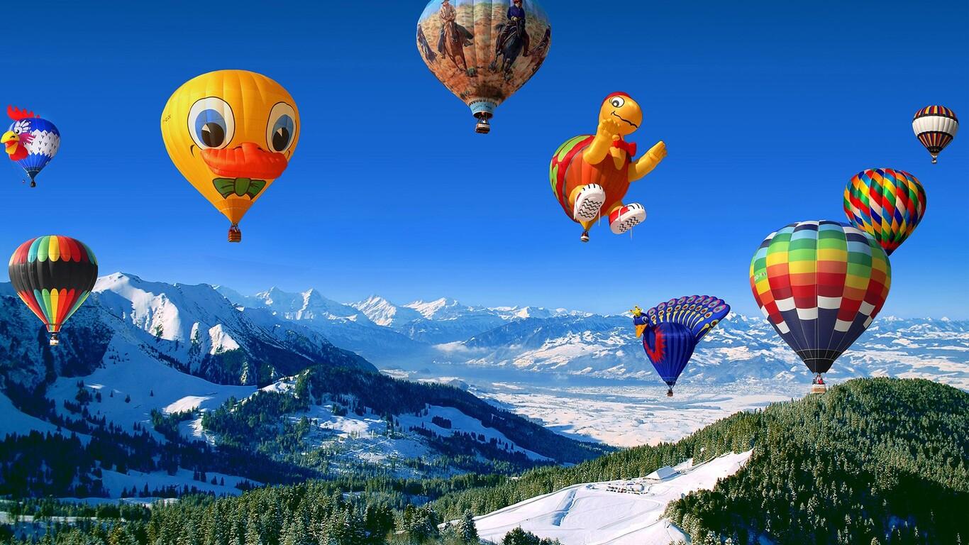1366x768 Hot Air Balloon 1366x768 Resolution HD 4k ...