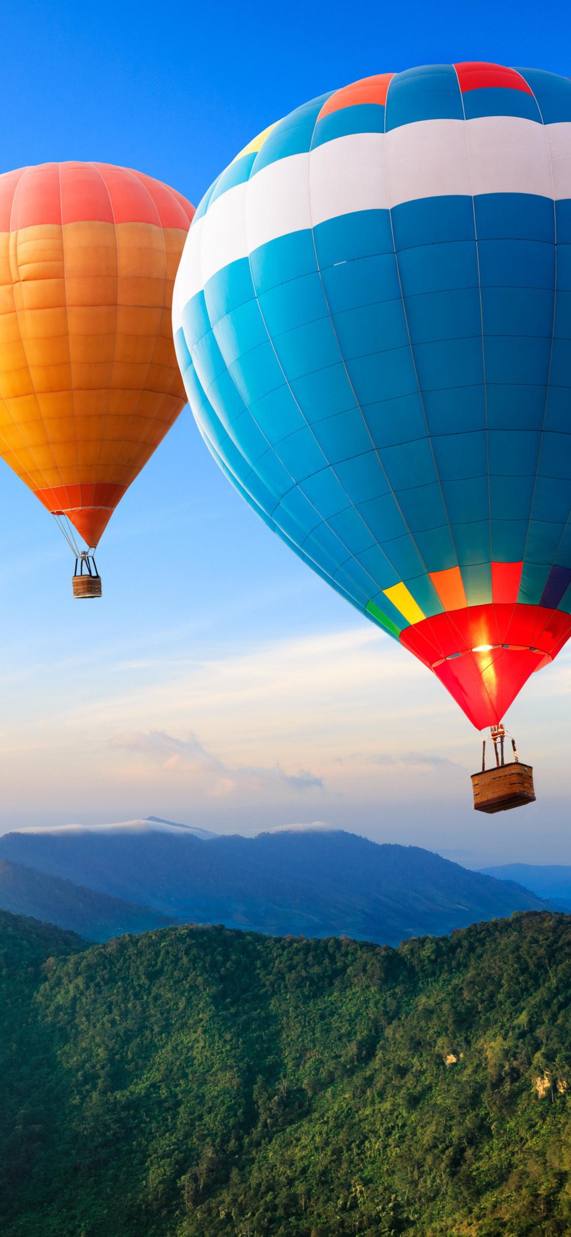 1125x2436 Hot Air Balloon 4k Iphone XS,Iphone 10,Iphone X ...