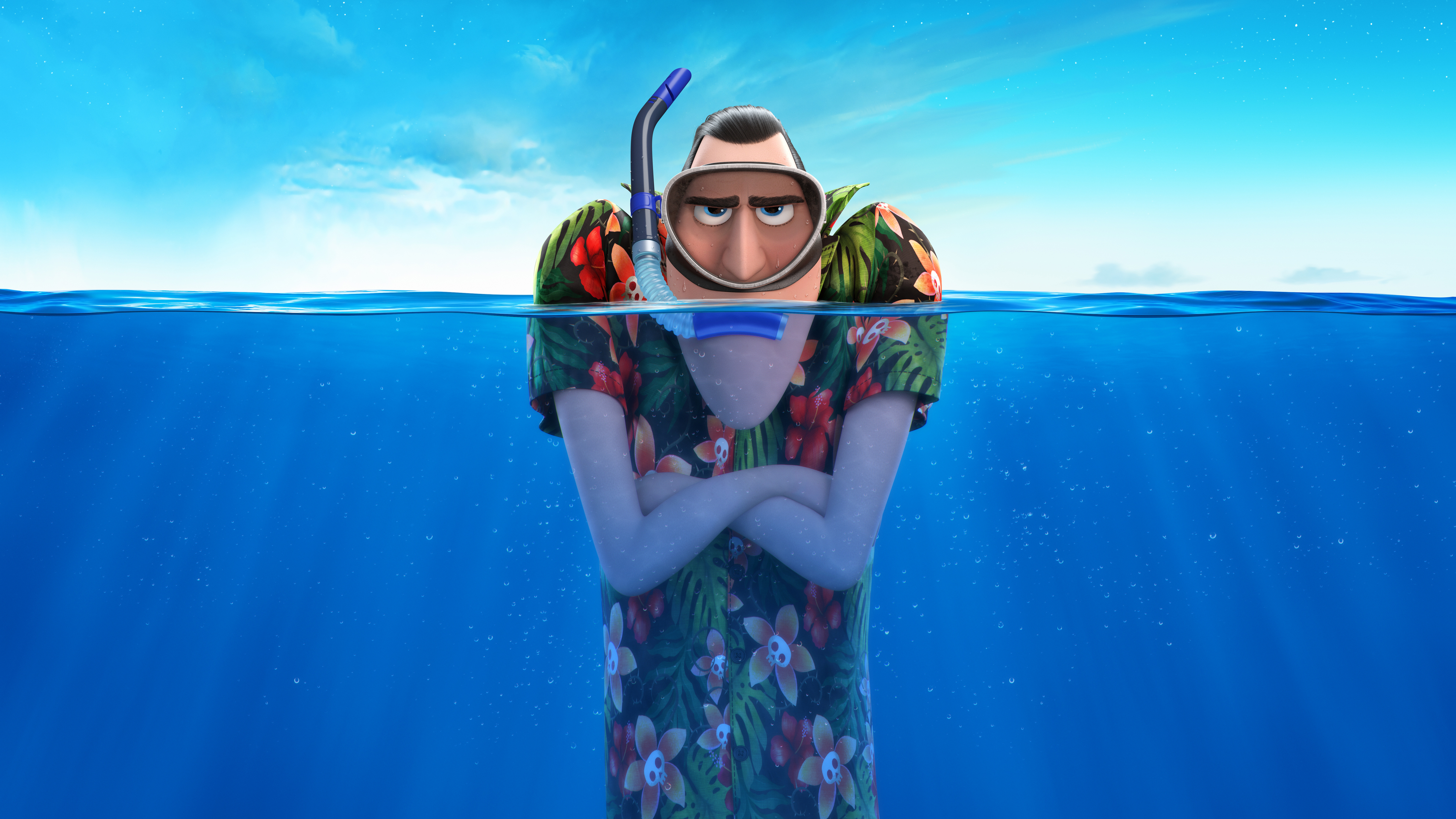 7680x4320 Hotel Transylvania 3 Summer Vacation 8k 8k HD 4k Wallpapers, Images, Backgrounds ...