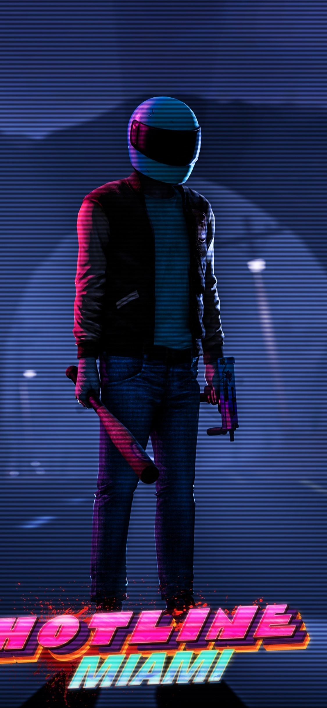 1125x2436 Hotline Miami Iphone XIphone 10 HD 4k Wallpapers Images
