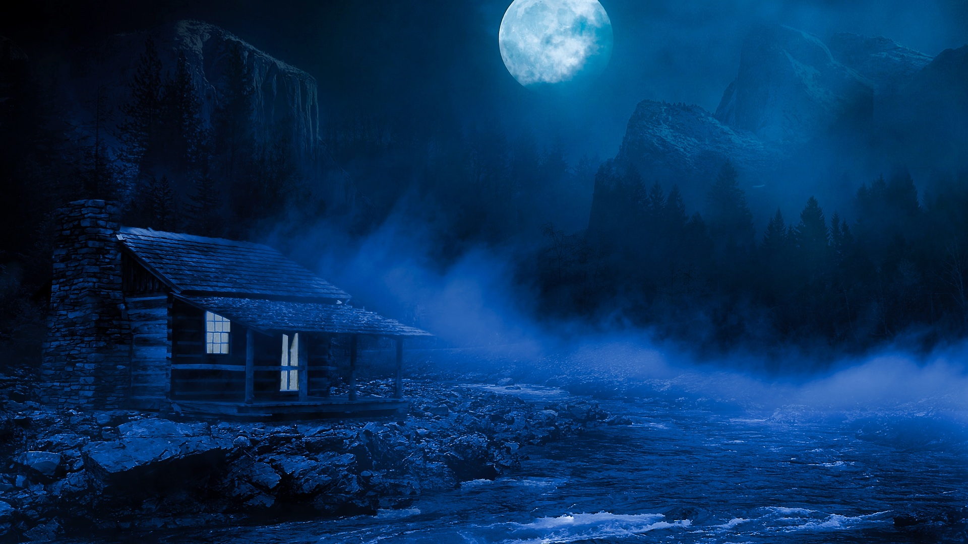 Cool Wallpaper Night House - house-night-full-moon-fantasy-lake-flowing-on-side-5k-qo-1920x1080  Graphic-231289.jpg