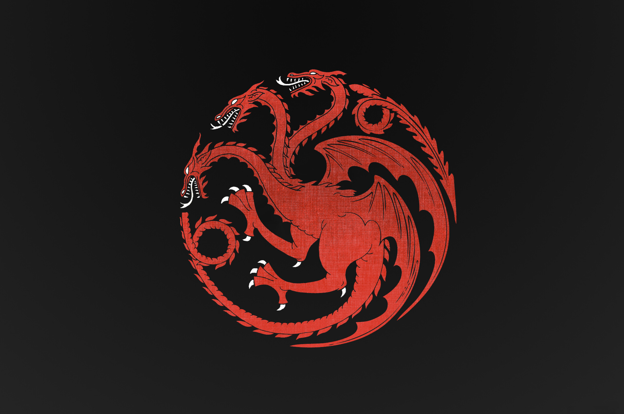 Game Of Thrones Minimalist Wallpaper: 2560x1700 House Targaryen Dragon Game Of Thrones Dragon