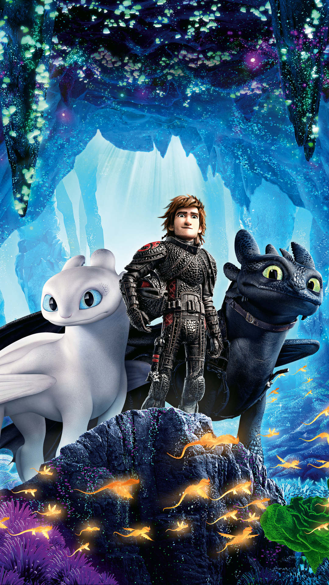1080x1920 How To Train Your Dragon Into The Hidden World 5k Iphone