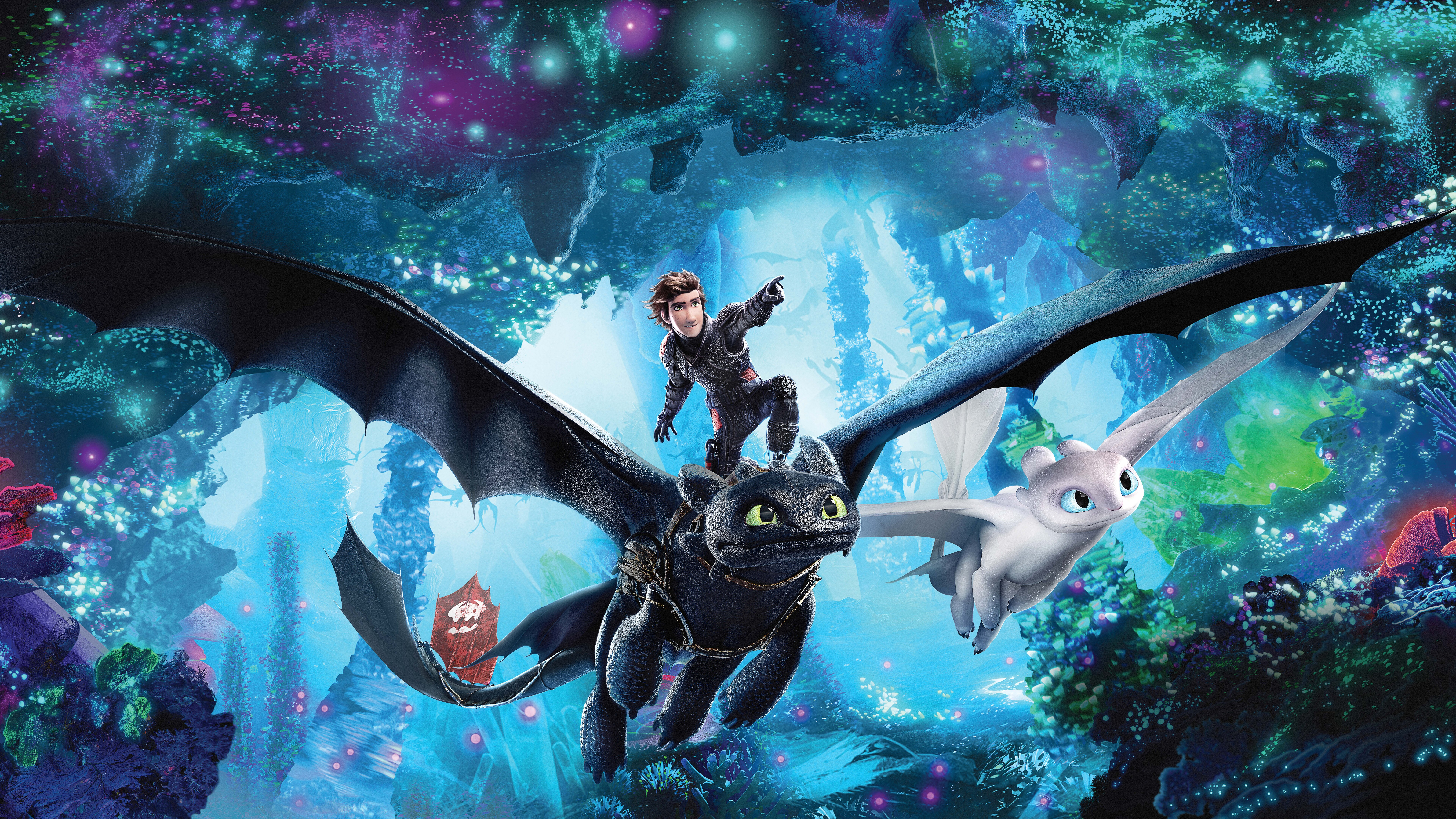 7680x4320 How To Train Your Dragon The Hidden World 12k