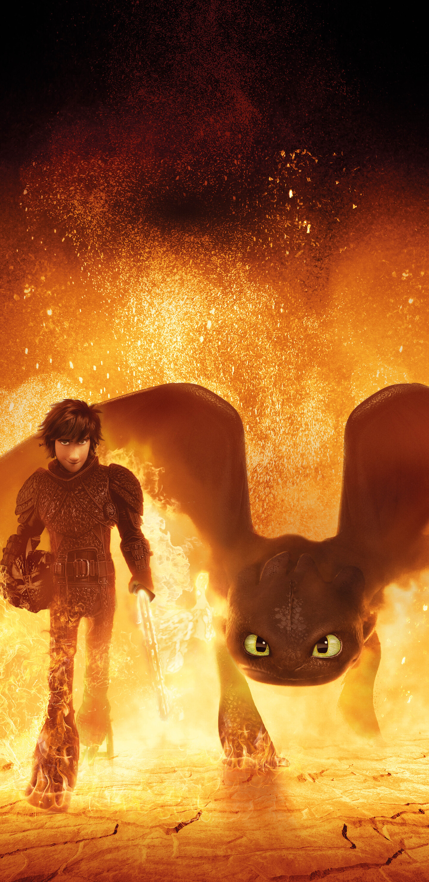 1440x2960 How To Train Your Dragon The Hidden World 4k ...